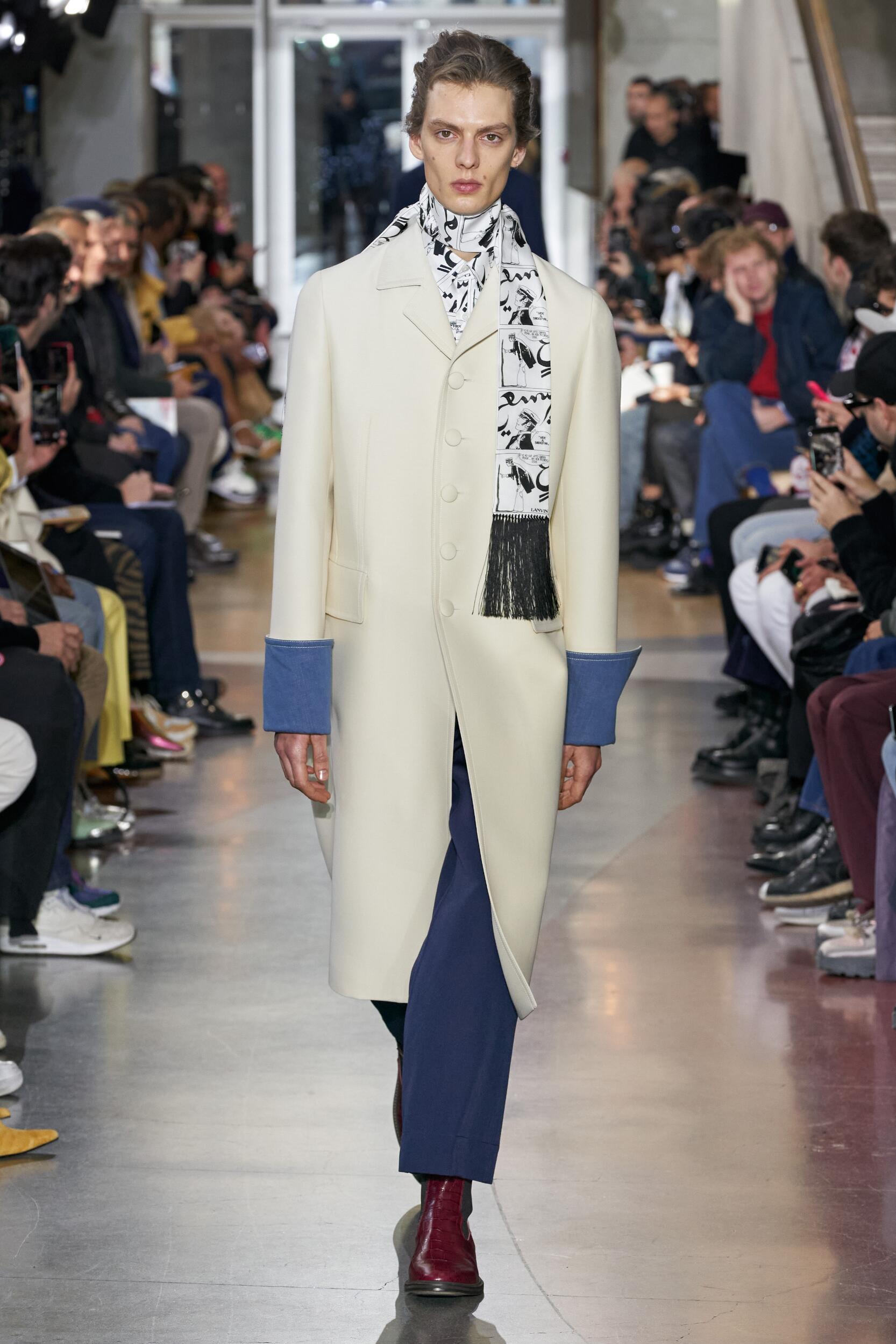 Lanvin 2020 Paris Men Trends