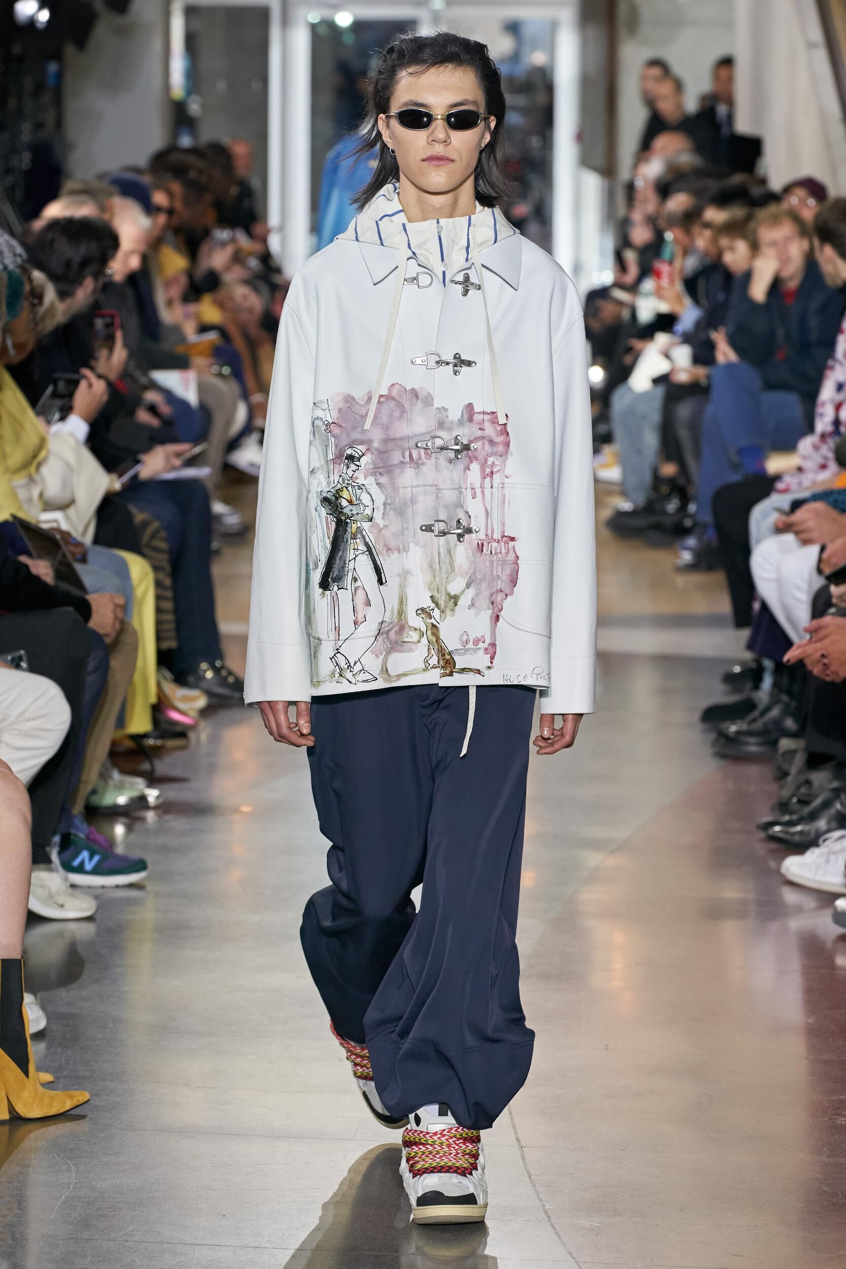 Lanvin Paris Fashion Week Menswear Trends