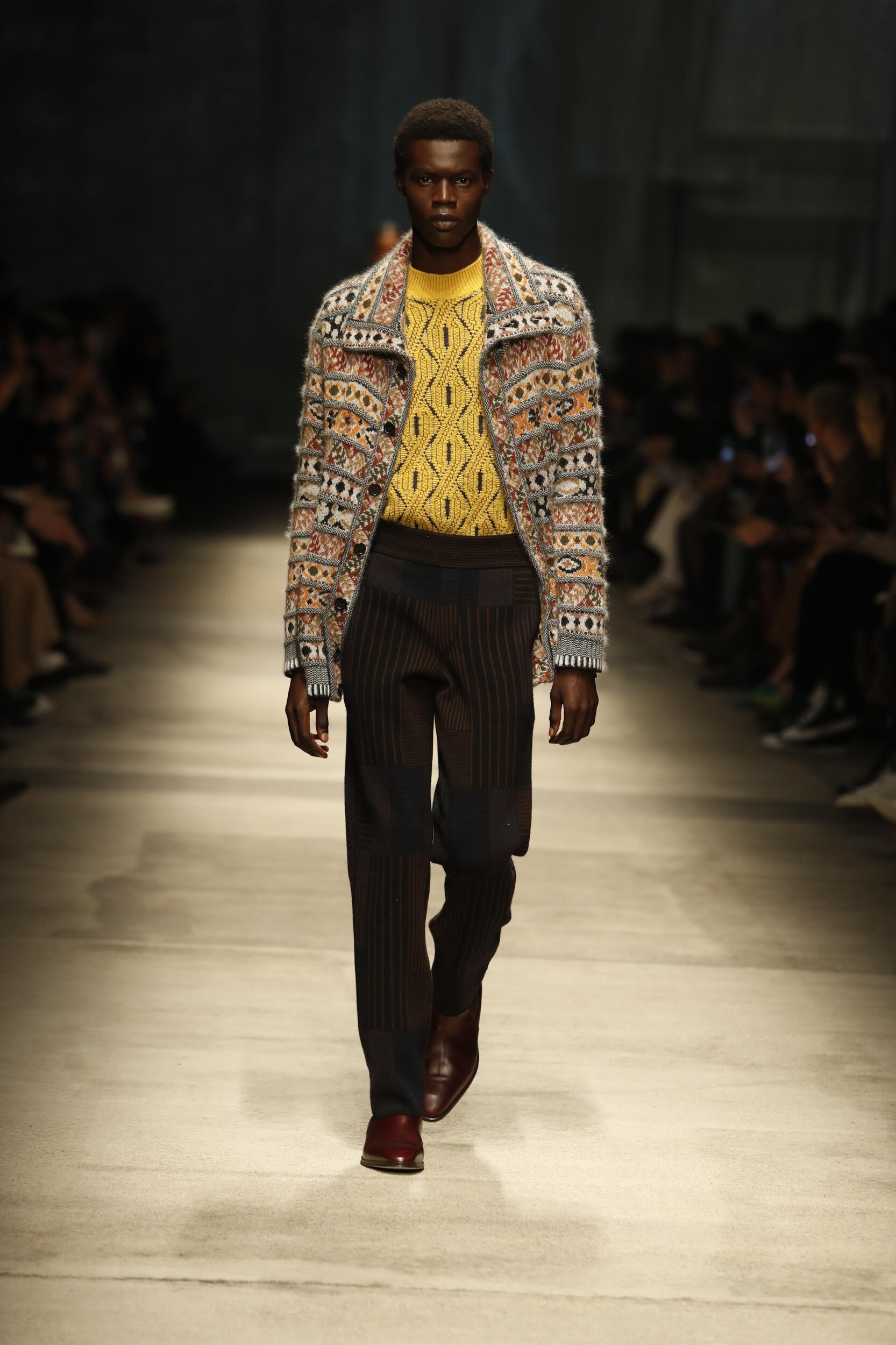 Man Fall 2020 Fashion Trends Missoni