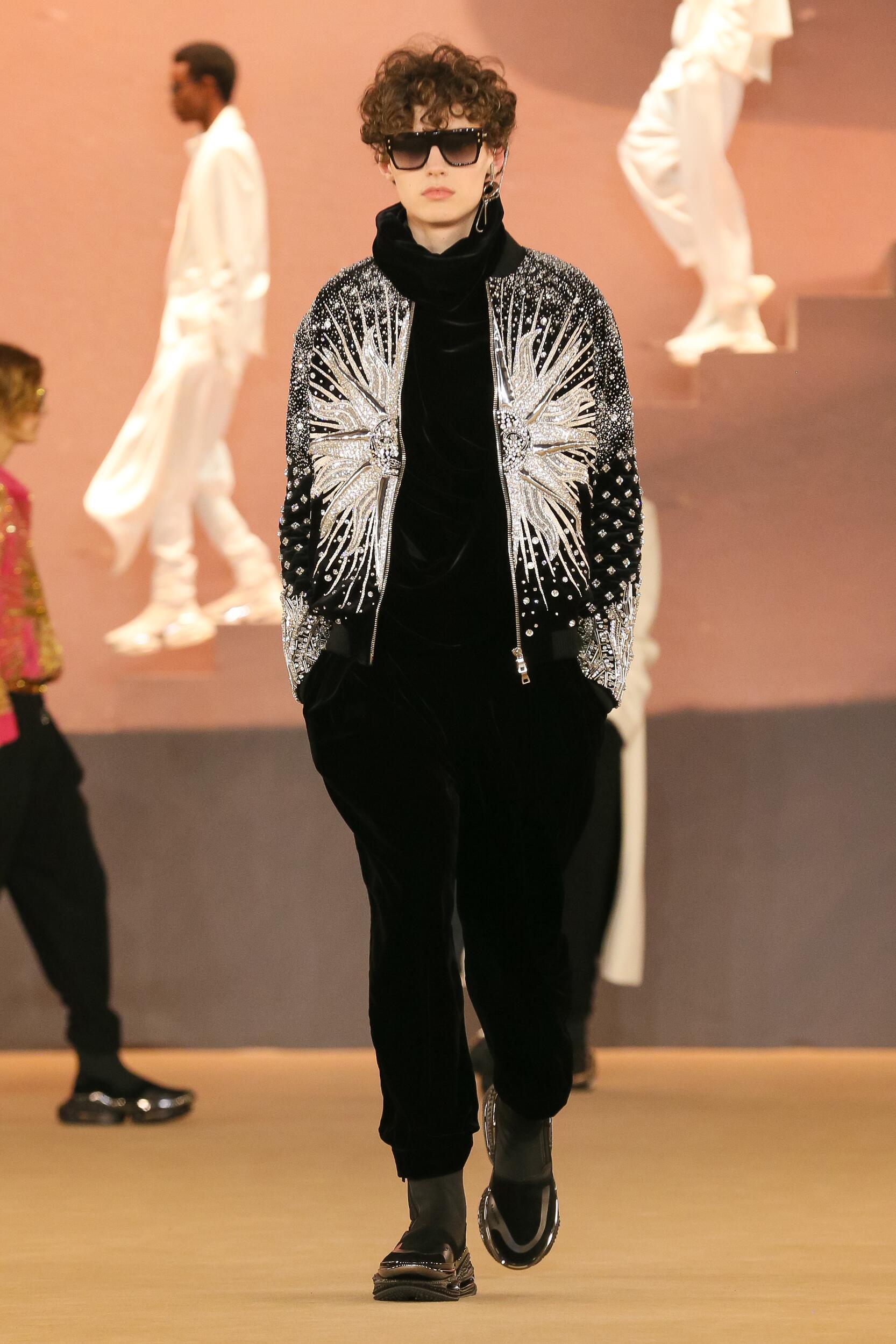 Menswear Fall Winter Balmain 2020 Trends