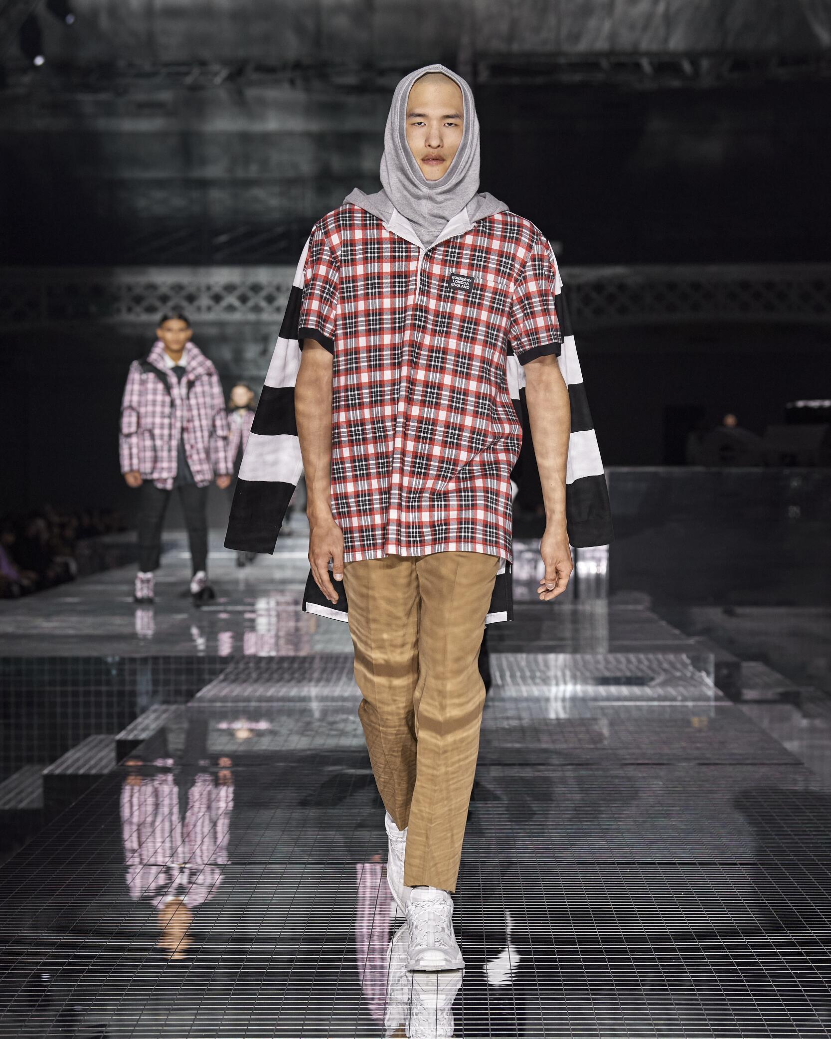 Menswear Fall Winter Burberry 2020