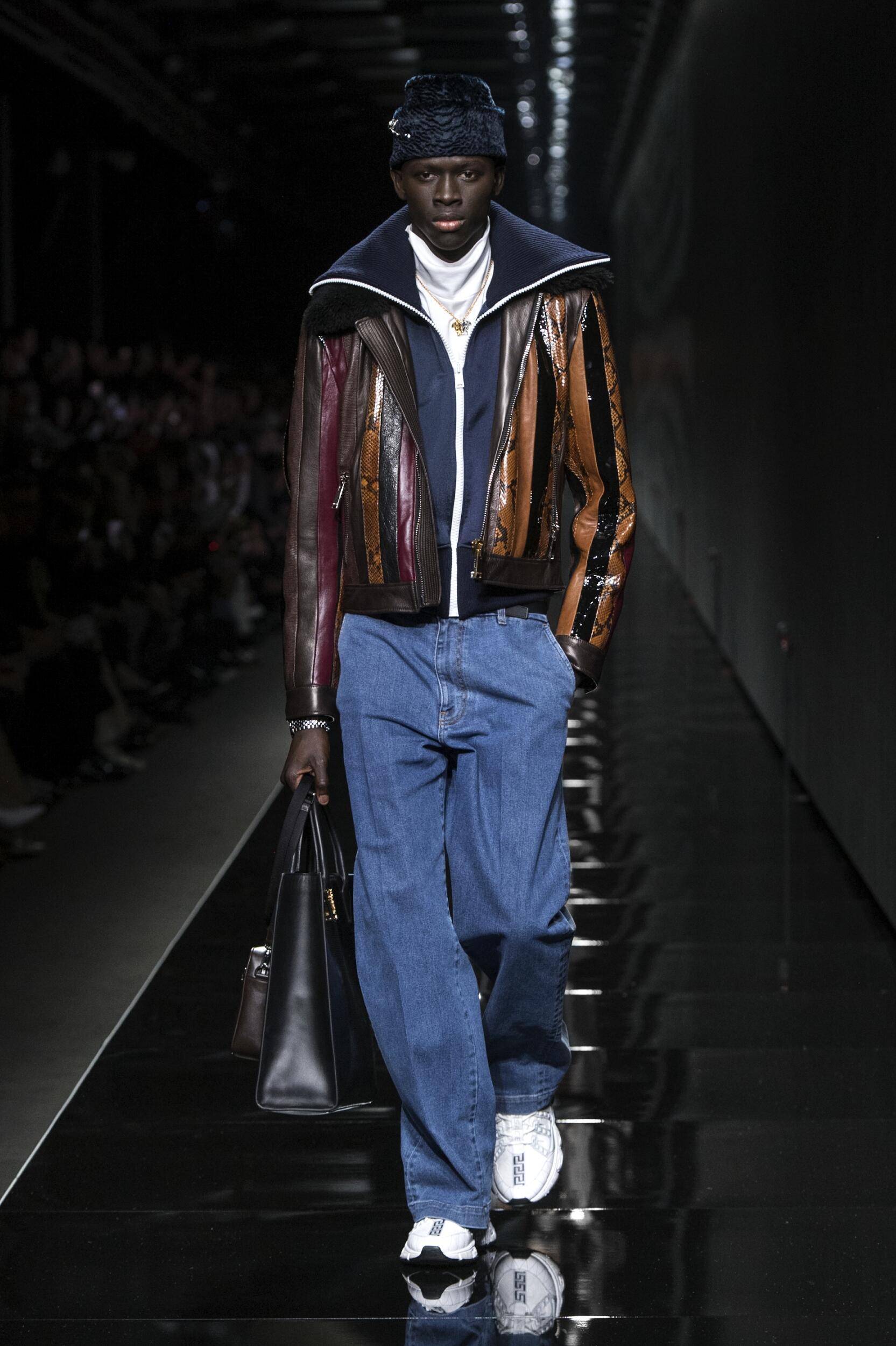 Menswear Fall Winter Versace 2020 Trends