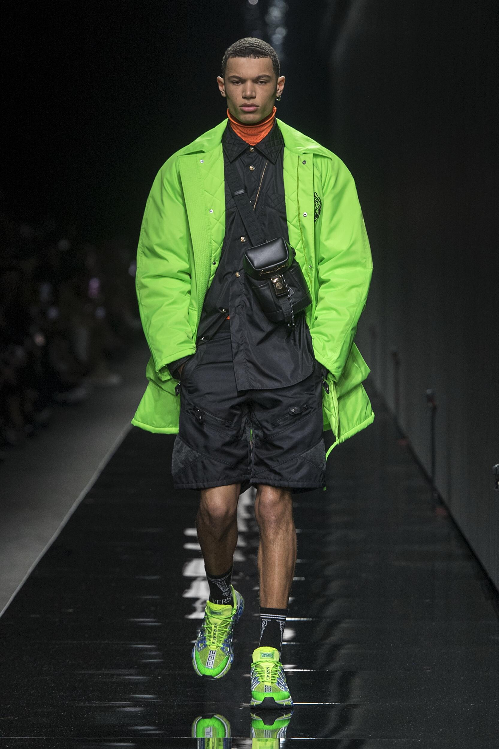Menswear Fall Winter Versace 2020