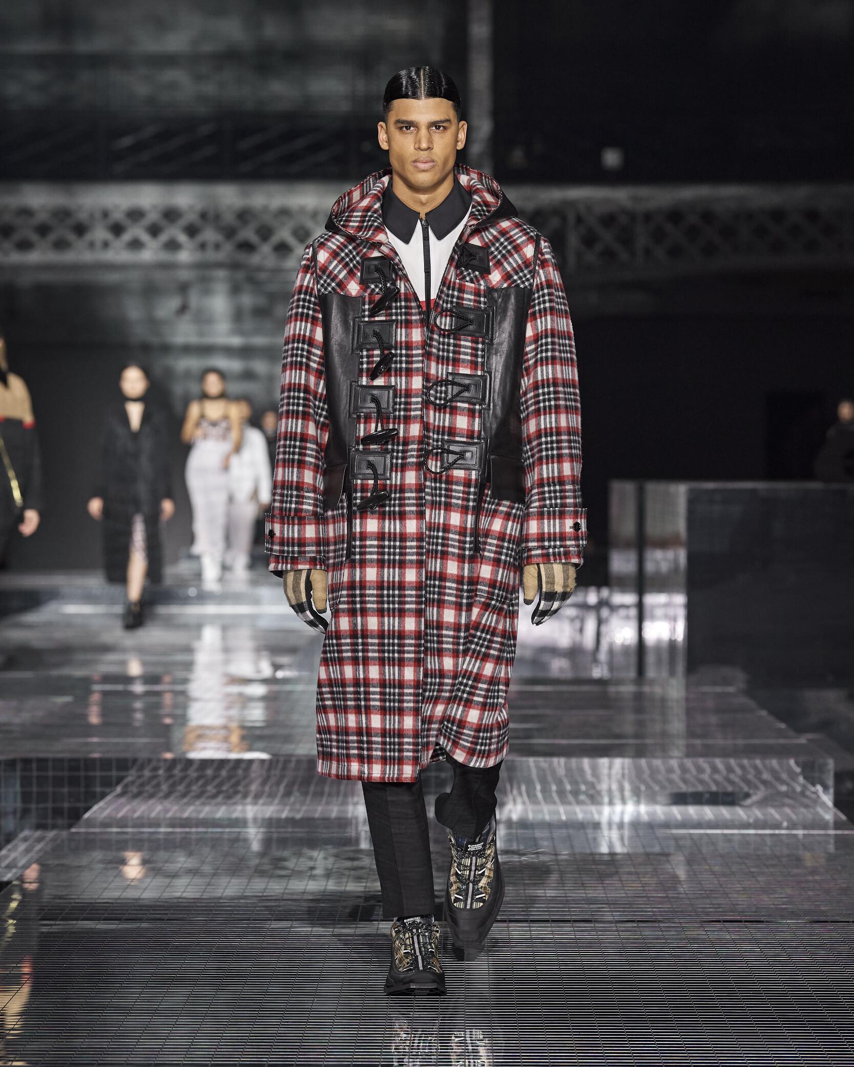 Menswear Fashion 2020-21 Catwalk Burberry