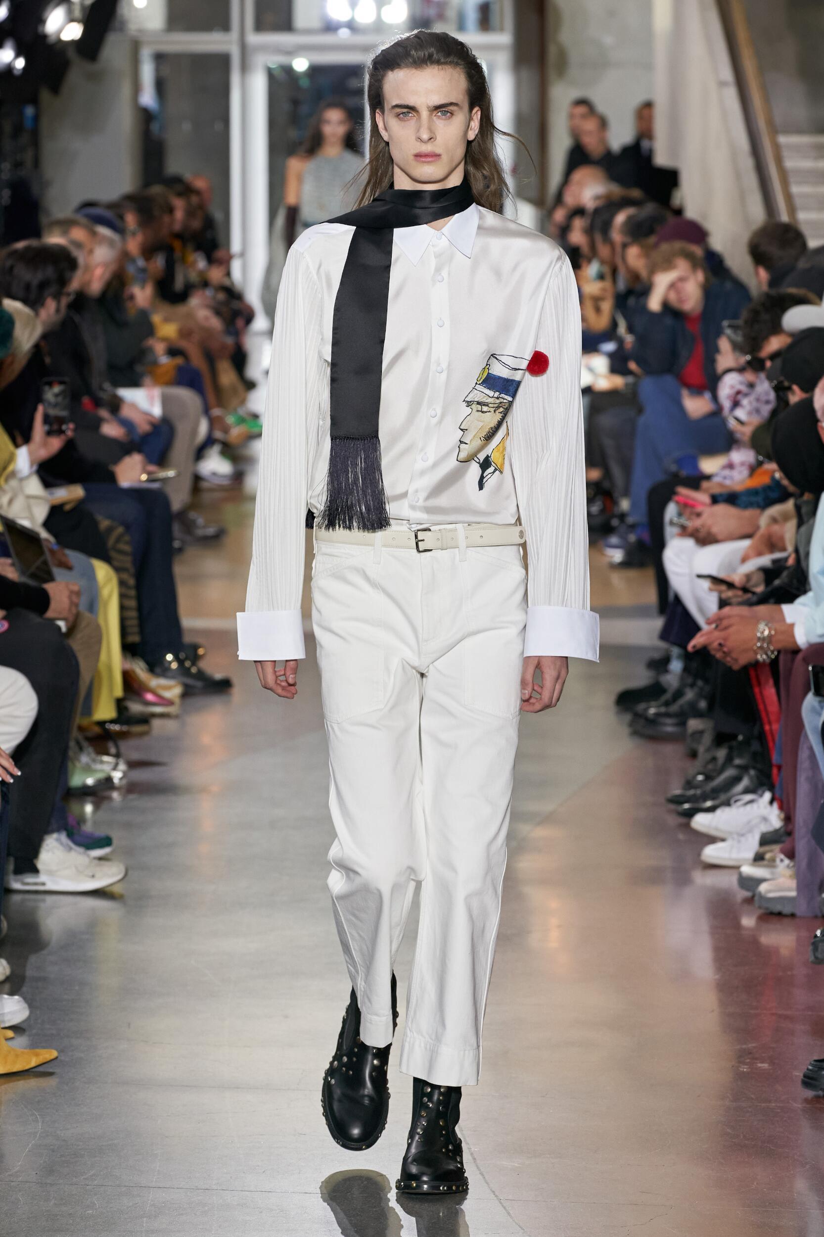 Menswear Winter Lanvin 2020