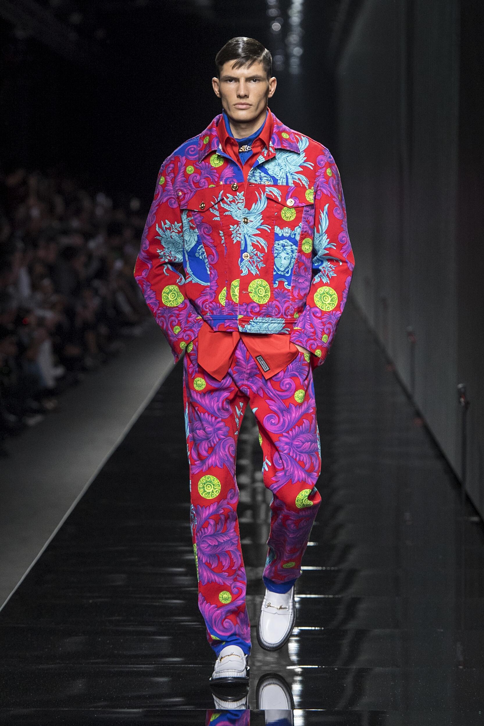 Menswear Winter Versace 2020