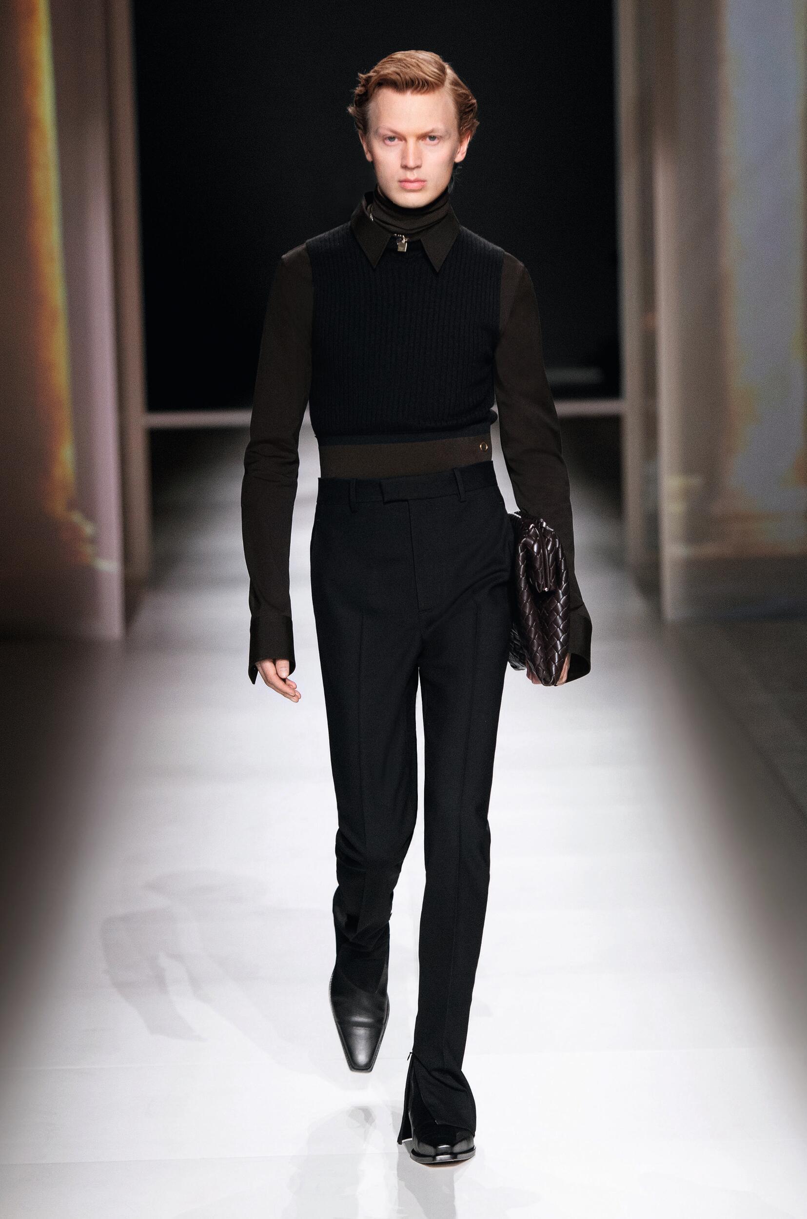 Model Fashion Show Bottega Veneta