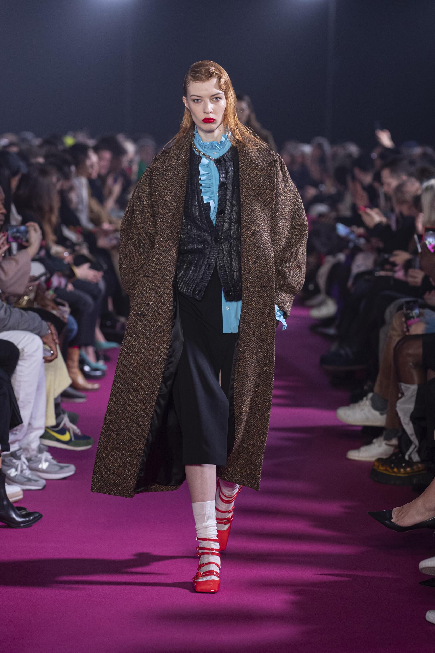 Model Fashion Show MSGM
