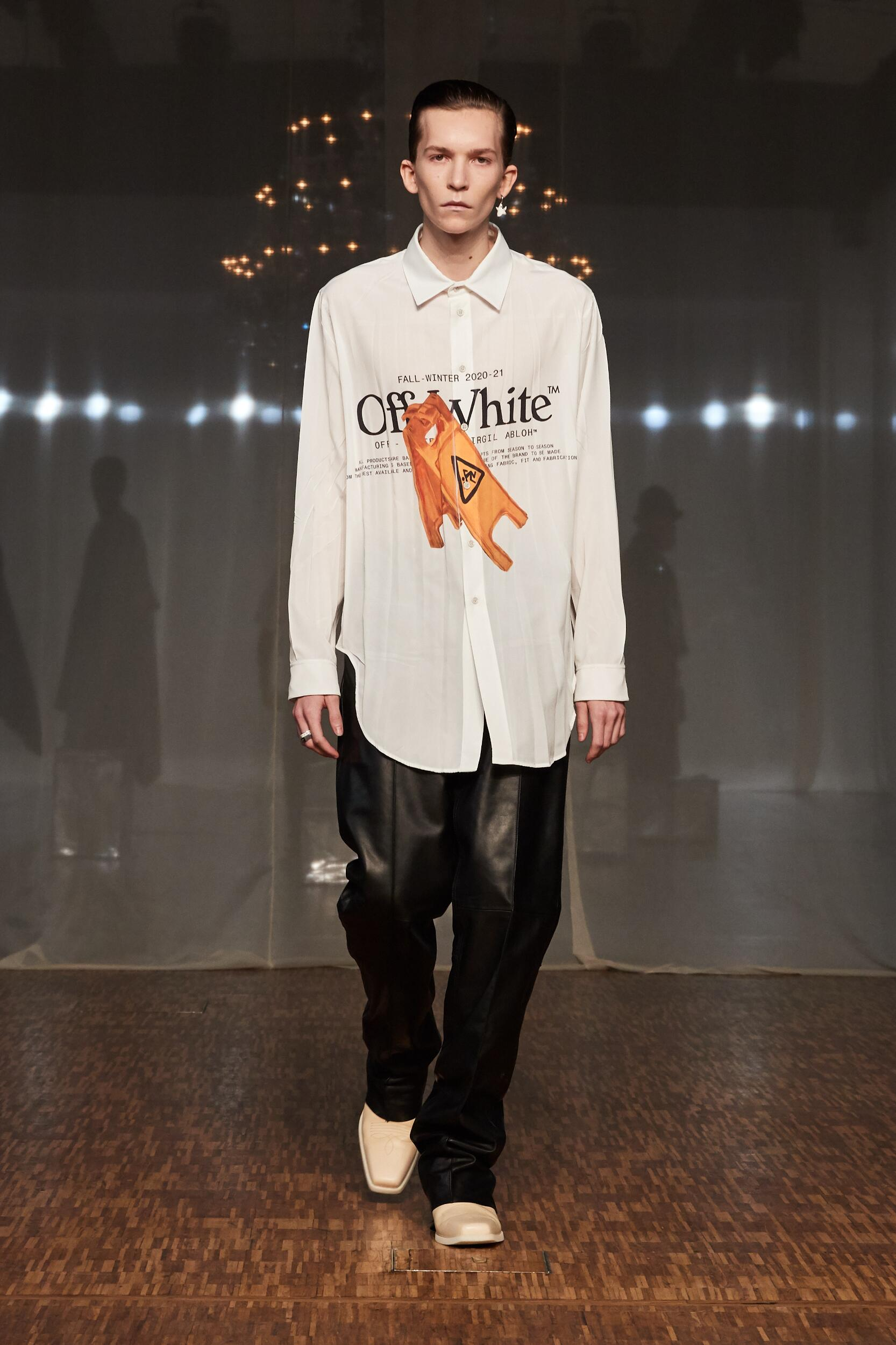 Off White c/o Virgil Abloh FW 2020 Menswear