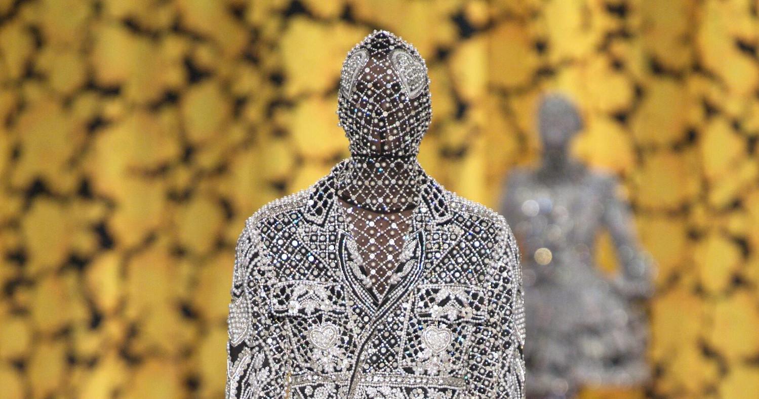 Richard Quinn Fashion Show FW 2020 London