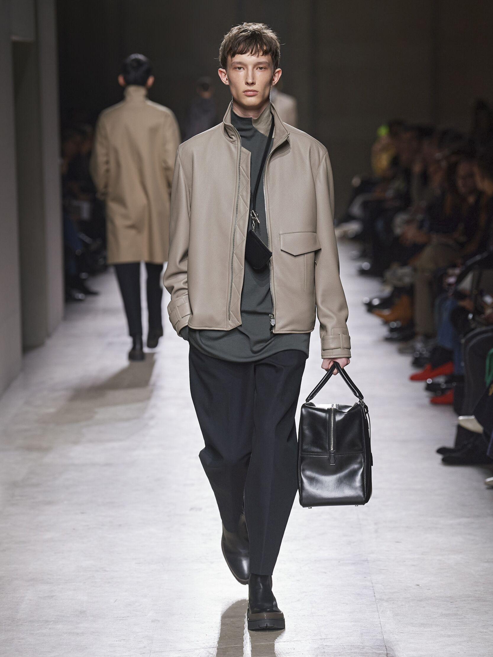 Runway Hermès Fall Winter 2020 Men's Collection Paris Fashion Week