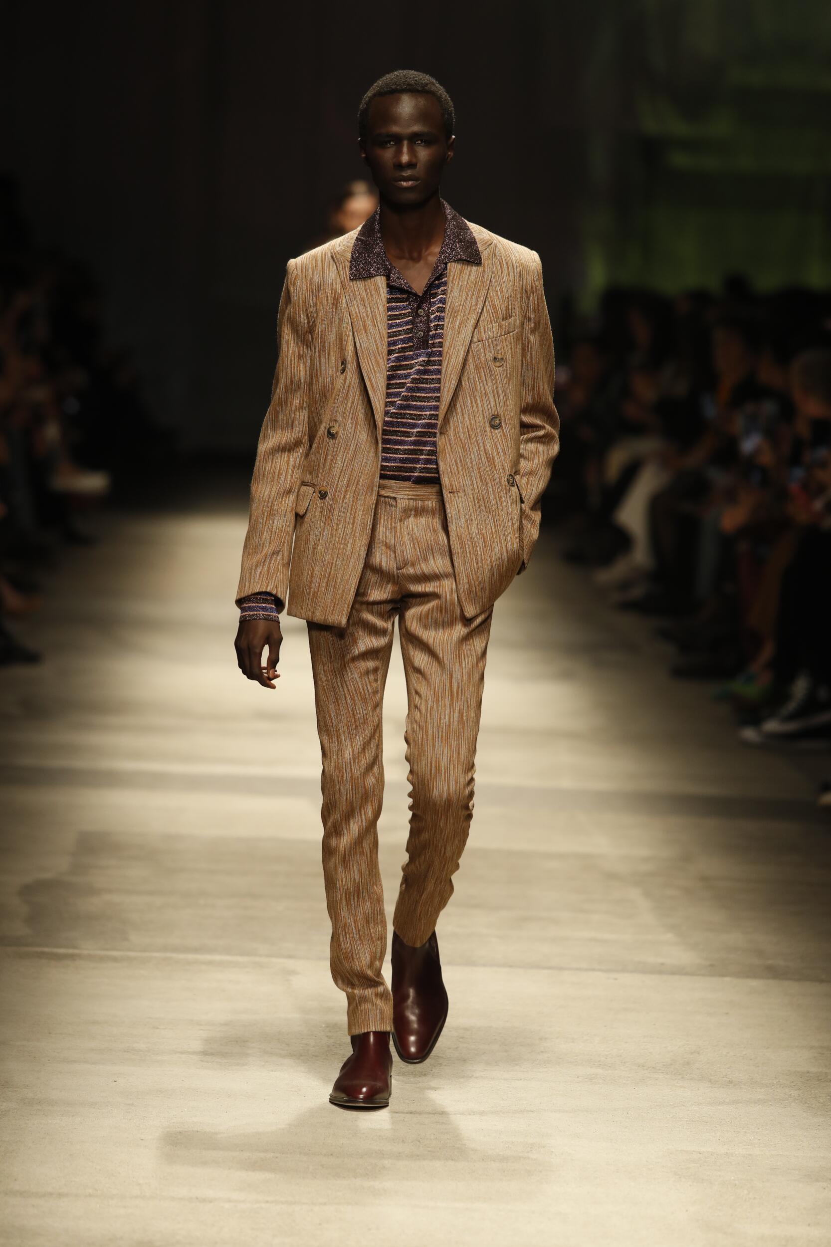 Runway Missoni Fall Winter 2020 Men's Collection Milan Fashion Week