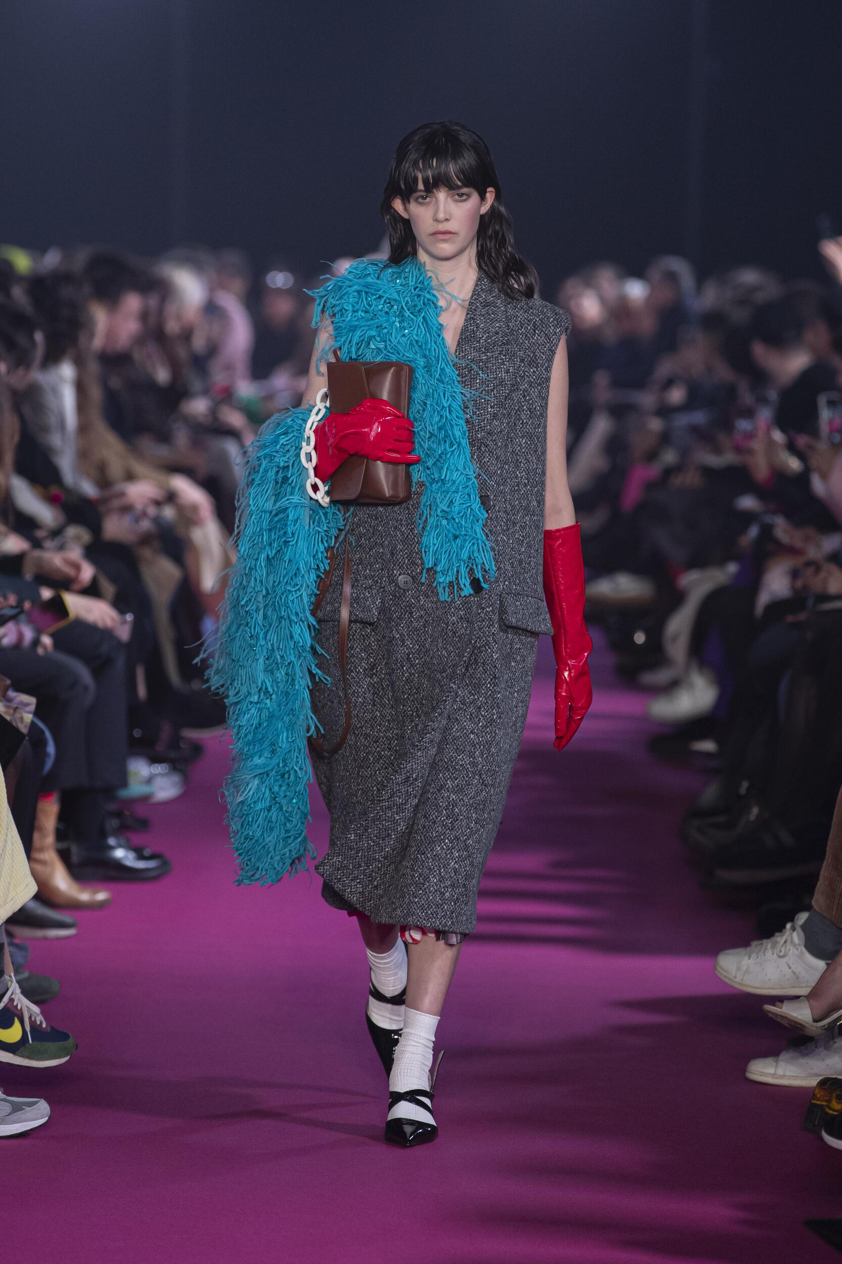 Runway MSGM Fall Winter 2020 Women's Collection Milan Fashion Week