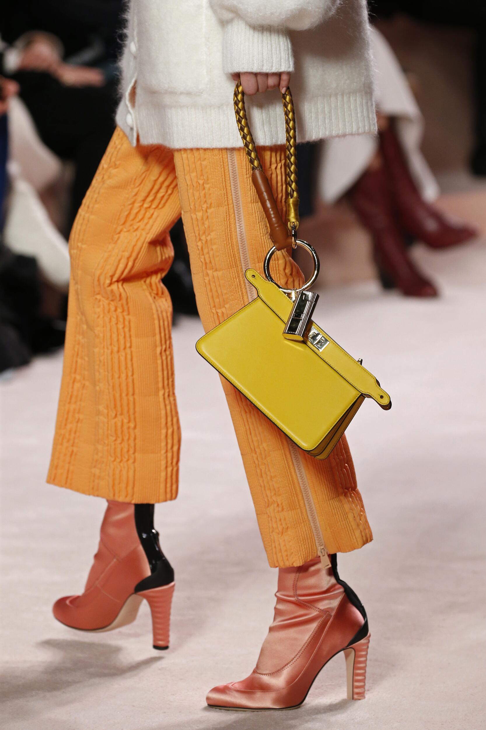 Shoes Fendi Fashion Show 2020