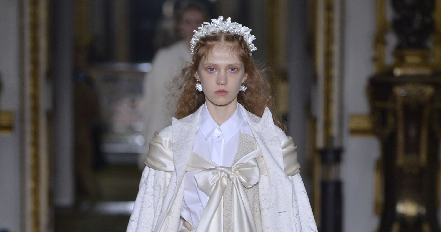 Simone Rocha Fashion Show FW 2020 London
