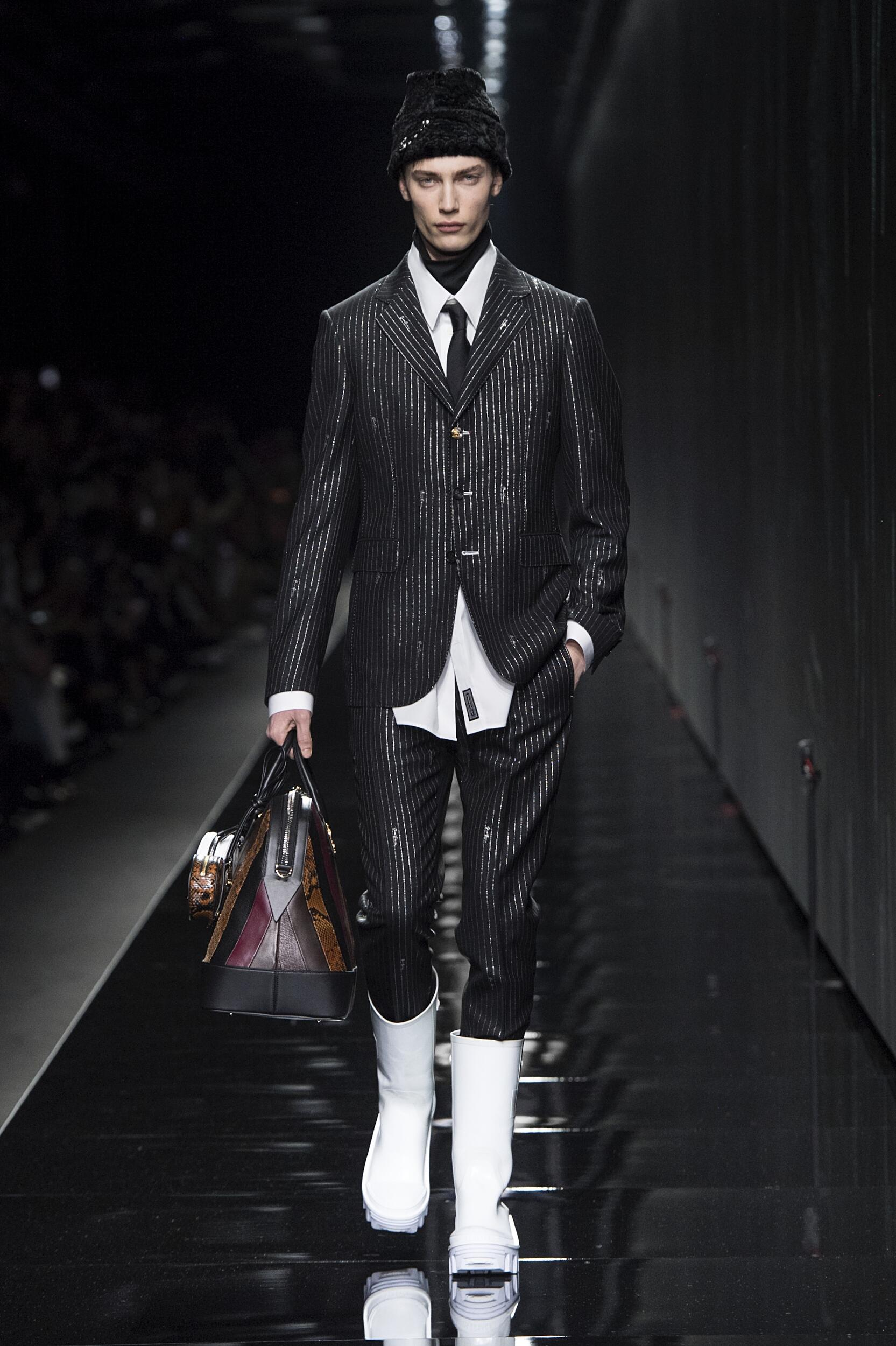 Versace 2020 Milan Men Trends