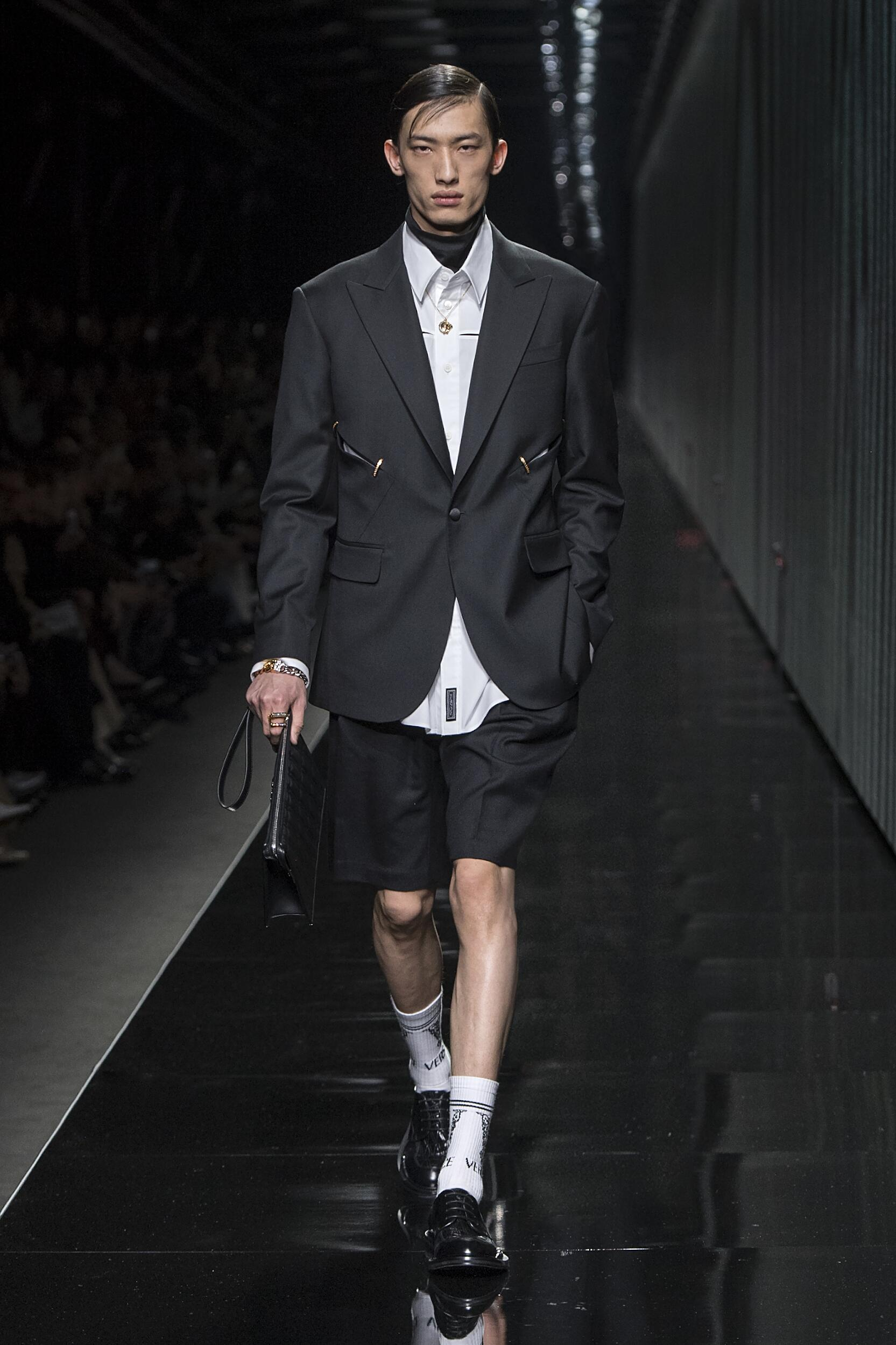 Versace 2020 Milan Trends Menswear