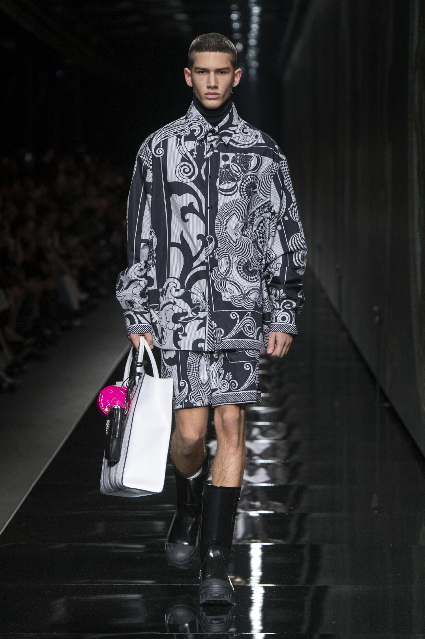 Versace Man 2020 Milan Trends