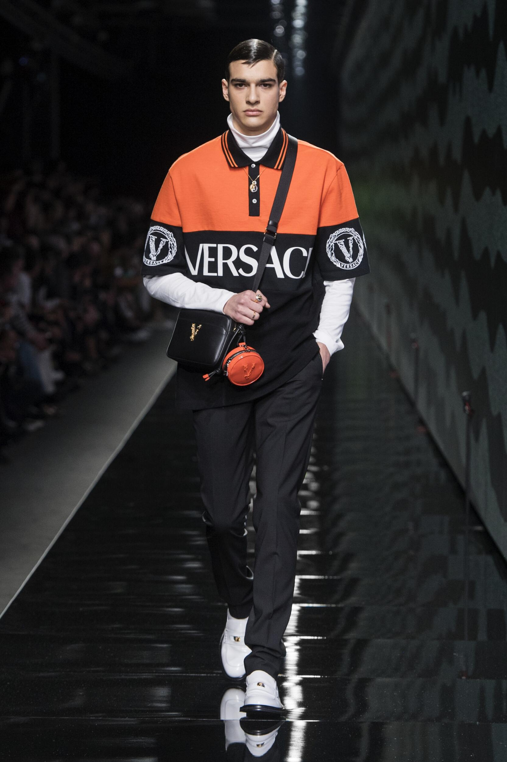 Versace Menswear Collection Trends