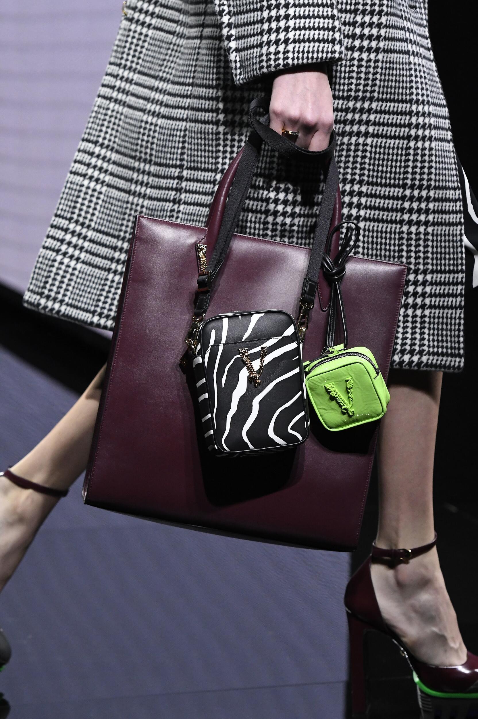 Versace Milan Fashion Week Bag