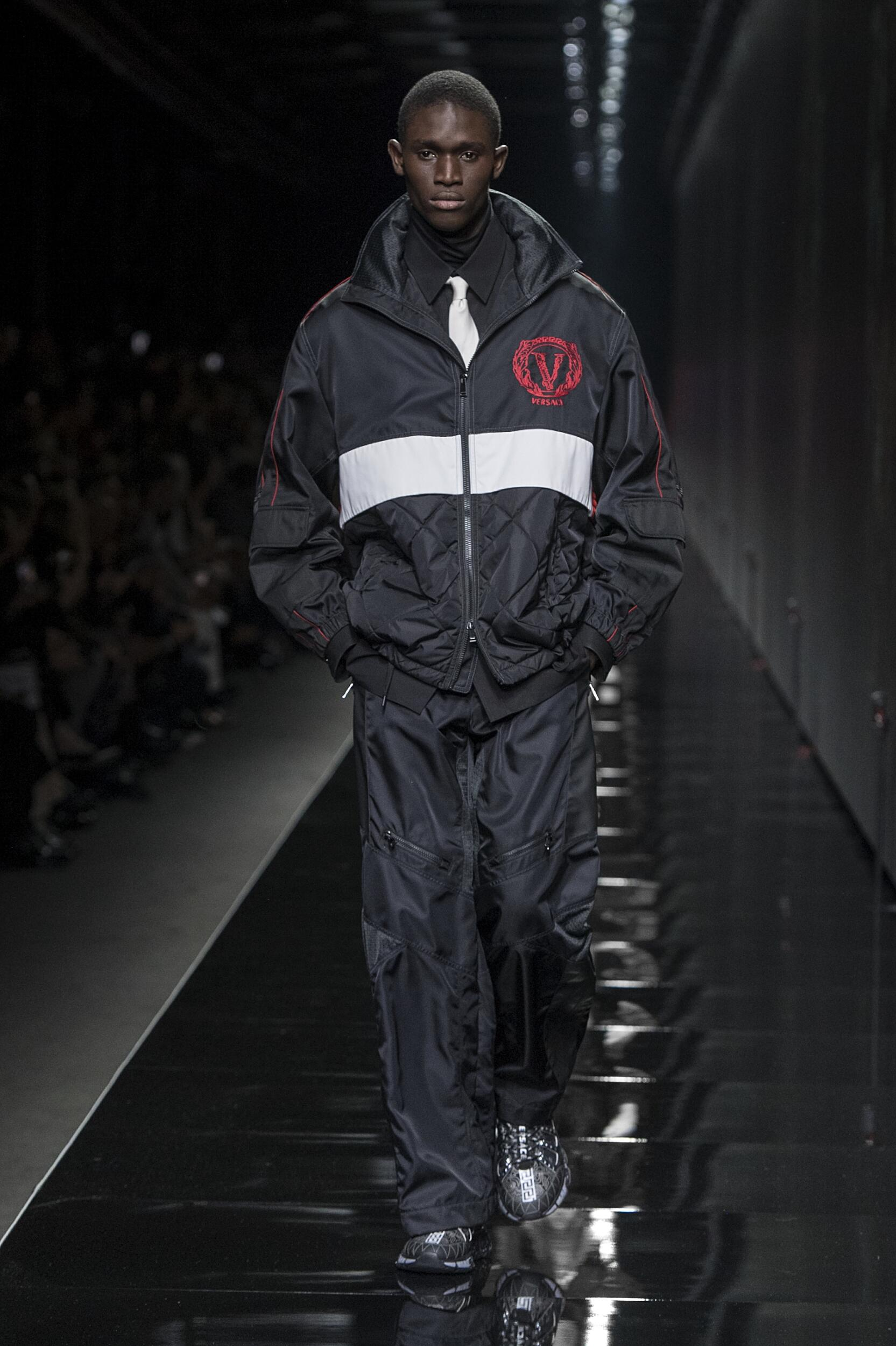 Versace Milan Fashion Week Menswear Trends