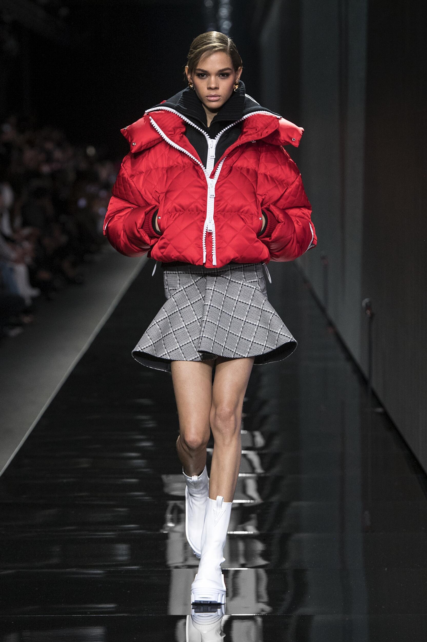 Versace Winter 2020 Catwalk