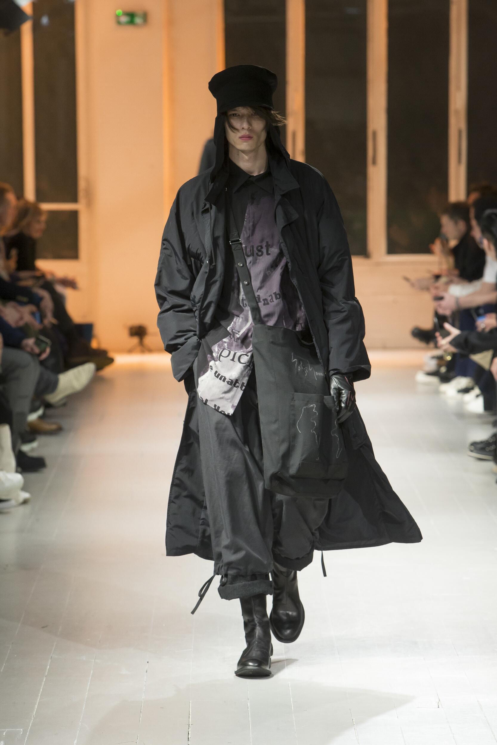 Winter 2020 Man Trends Yohji Yamamoto