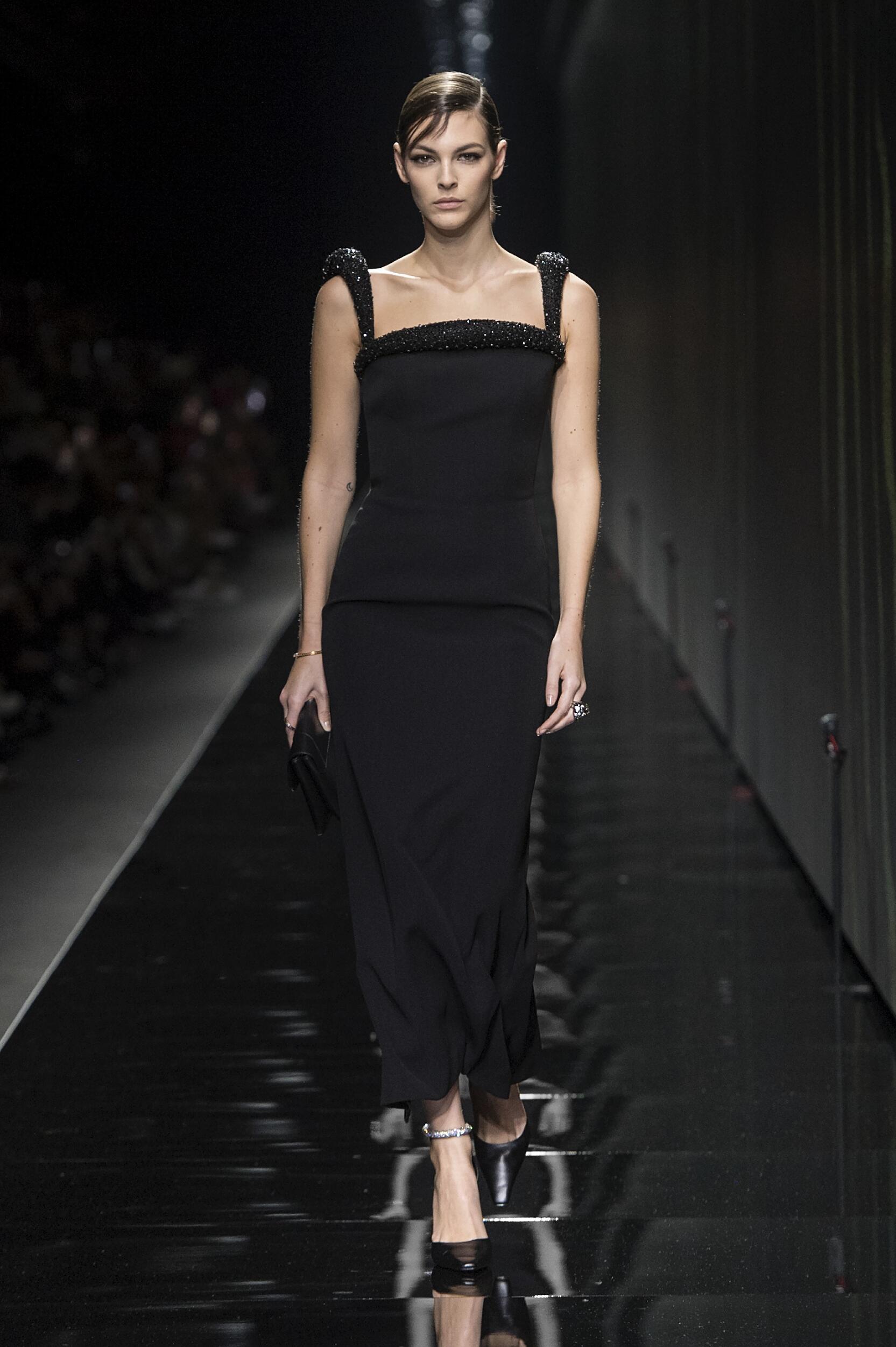 Woman FW 2020 Versace Show Milan Fashion Week