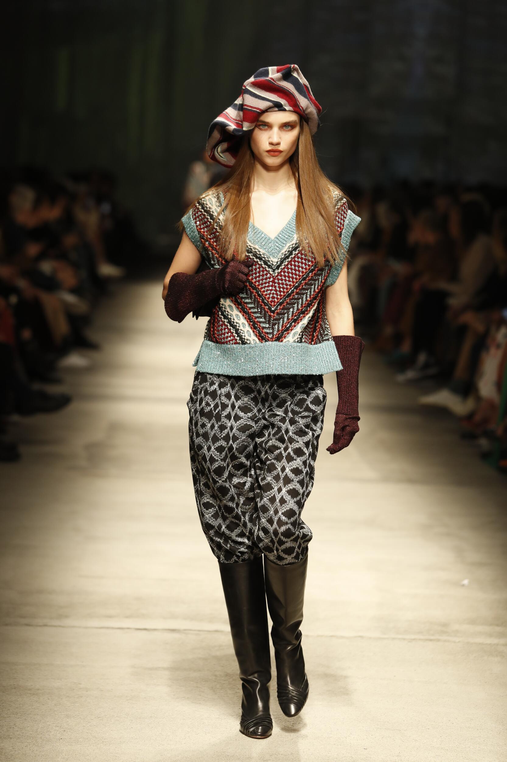 Womenswear Fall Winter Missoni 2020 Trends