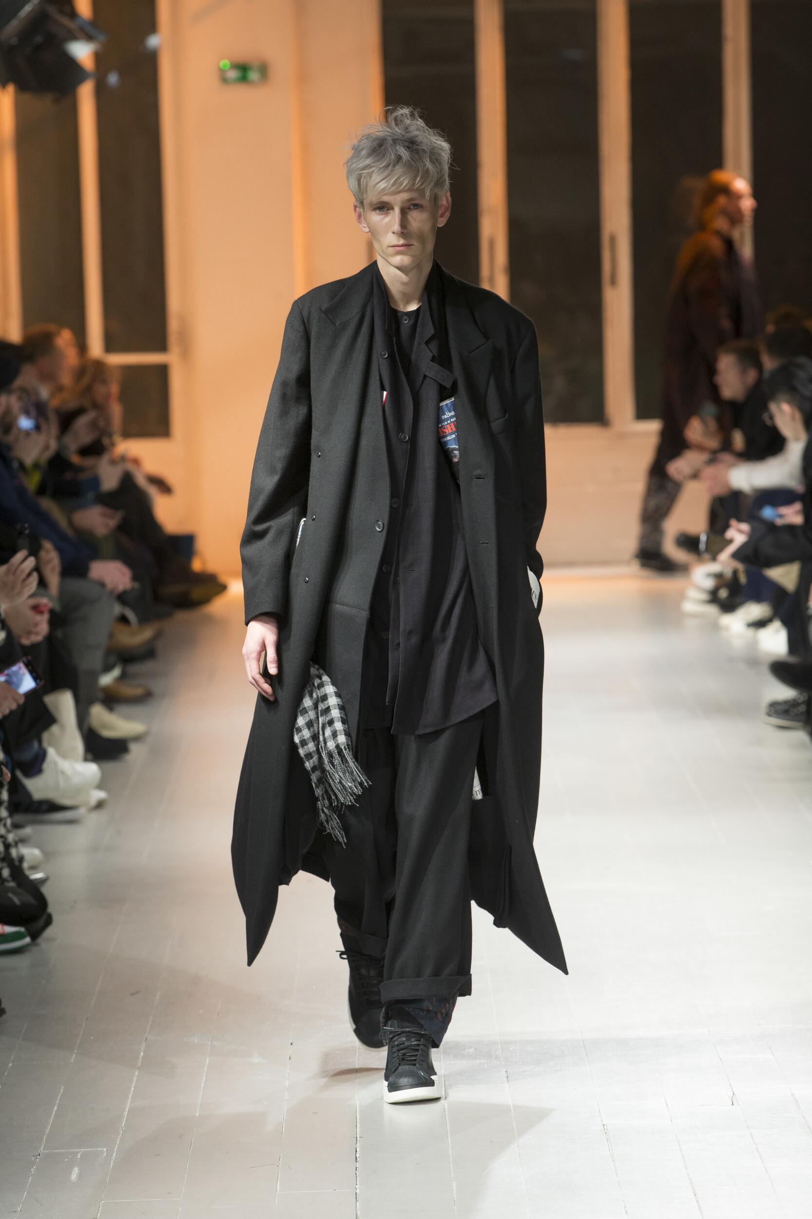 Yohji Yamamoto FW 2020 Menswear
