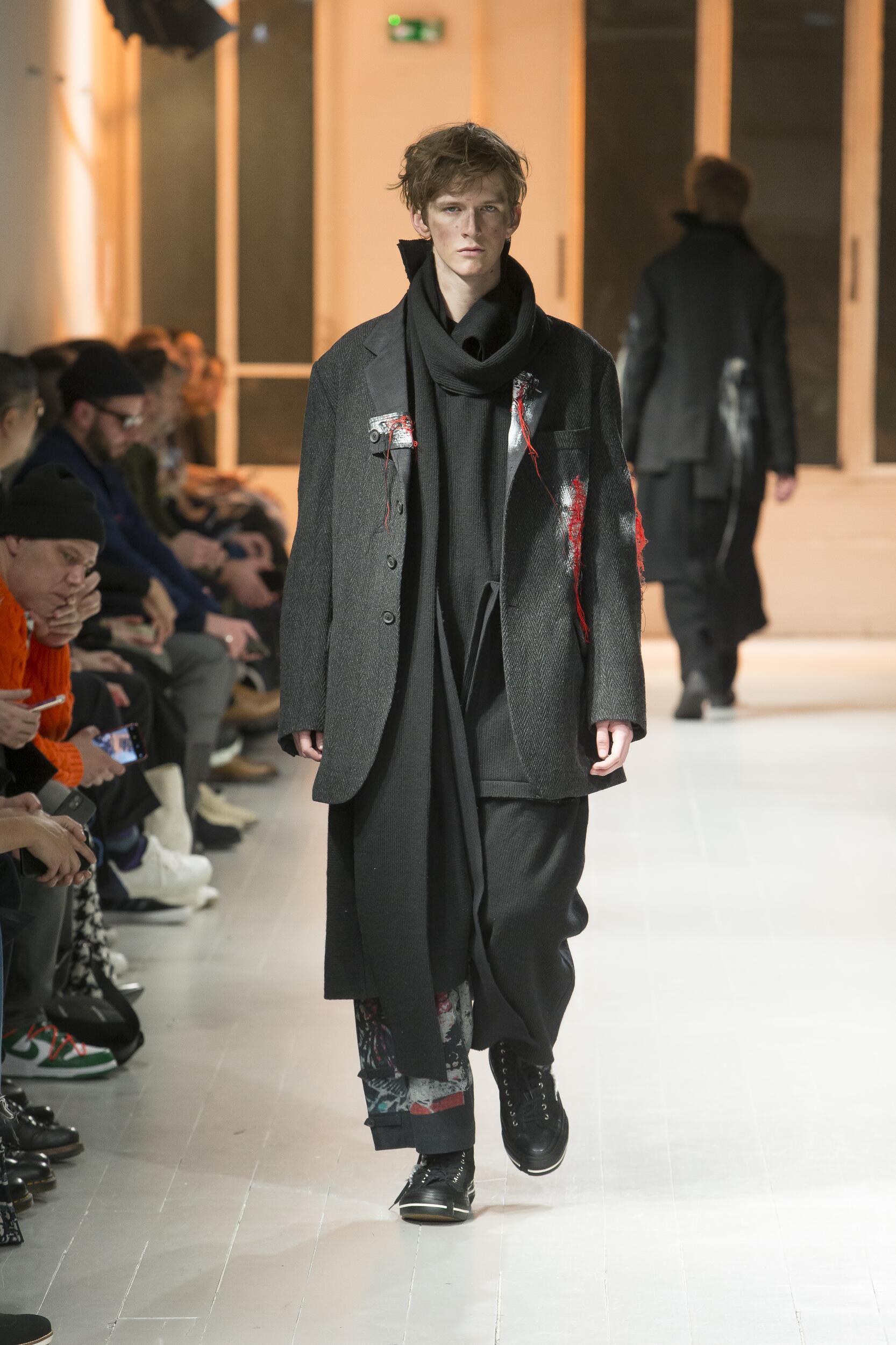 Yohji Yamamoto Fall Winter 2020