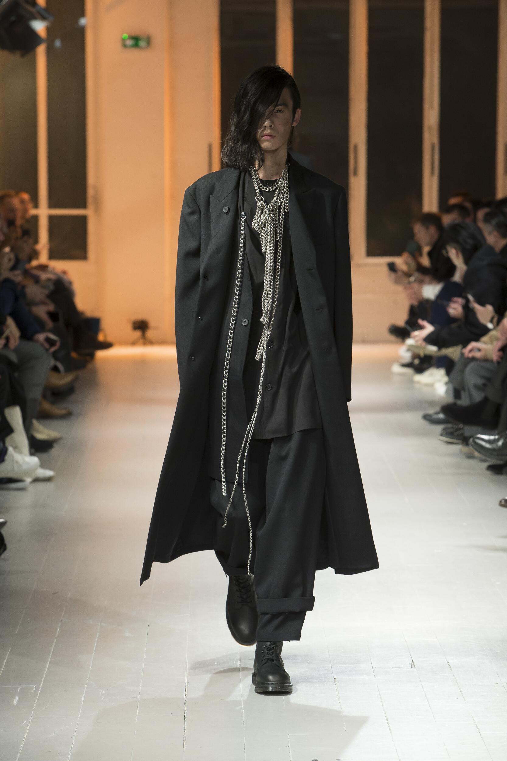 Yohji Yamamoto Men Style