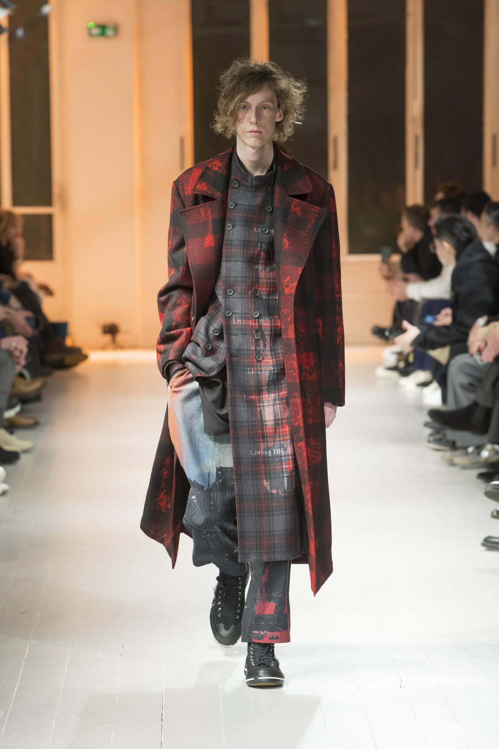 Yohji Yamamoto Paris Fashion Week Menswear Trends