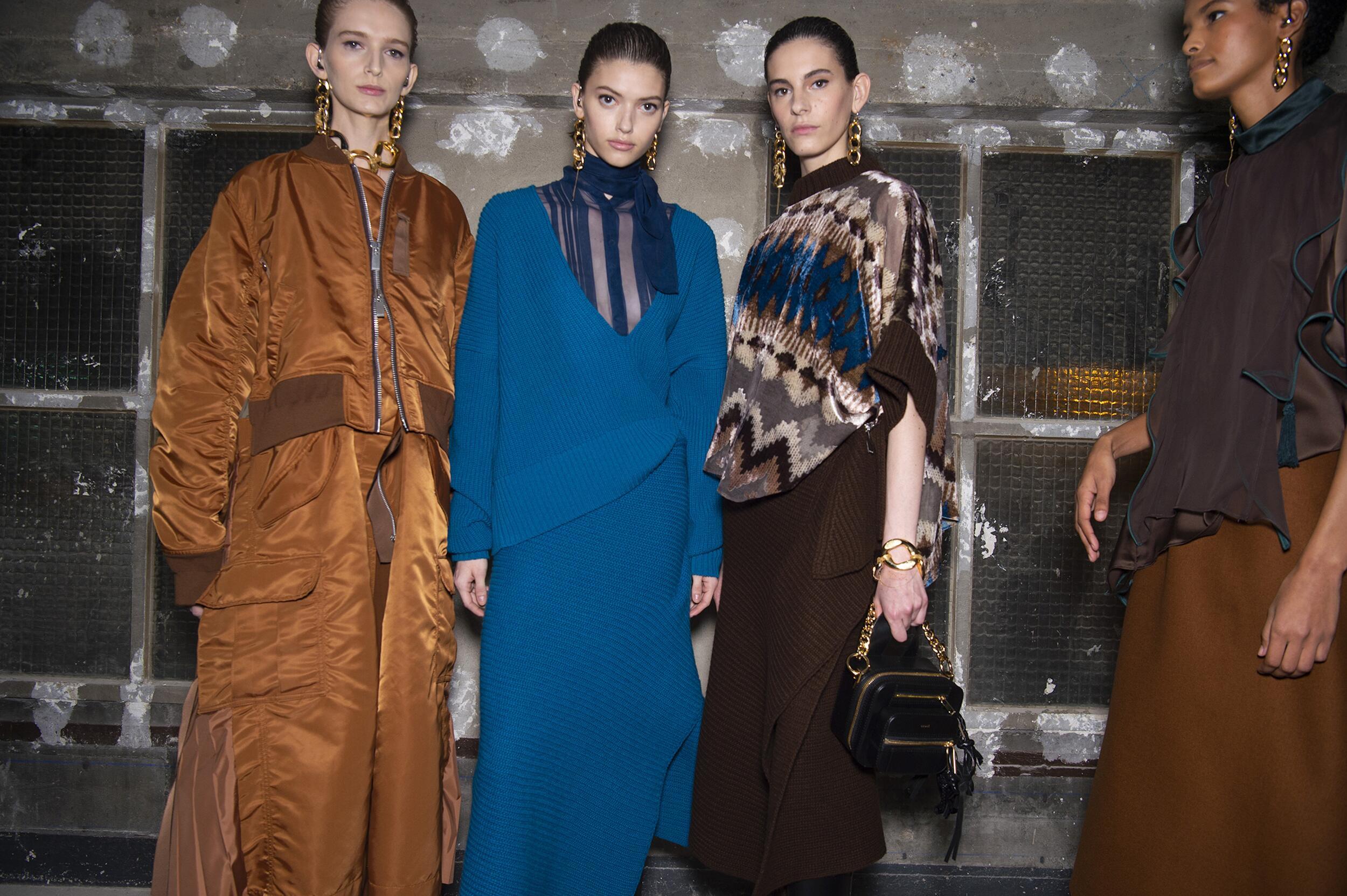 2020 Backstage Sacai Women Models