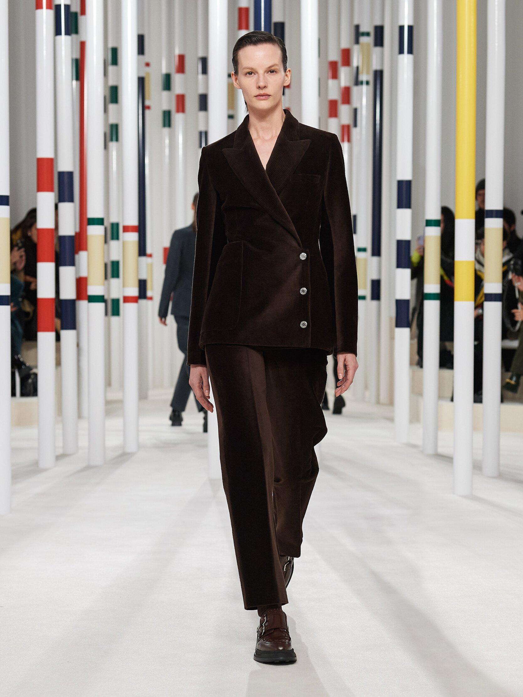 2020 Catwalk Hermès Woman Fashion Show Winter
