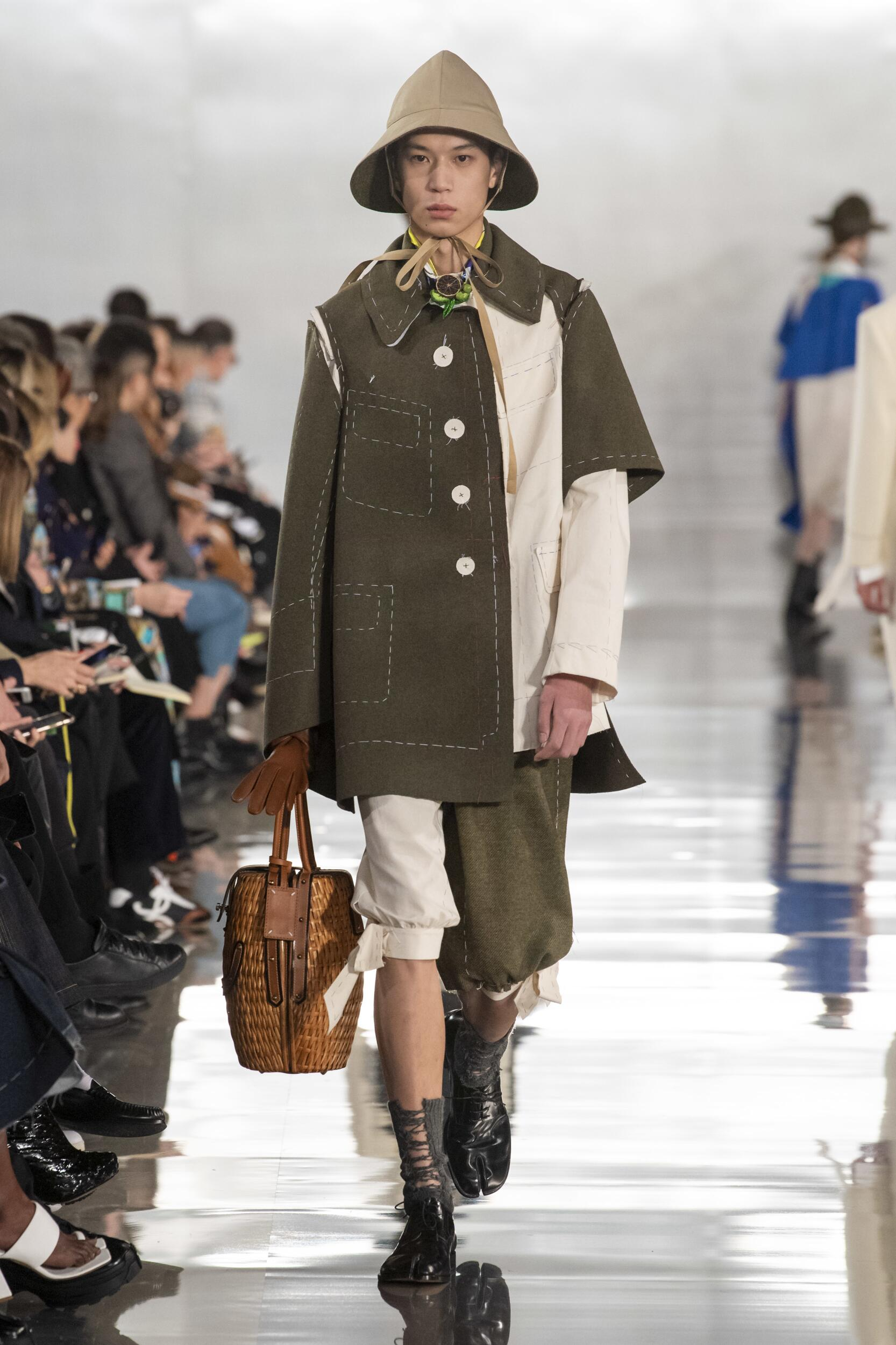 2020 Catwalk Maison Margiela Man Fashion Show Winter