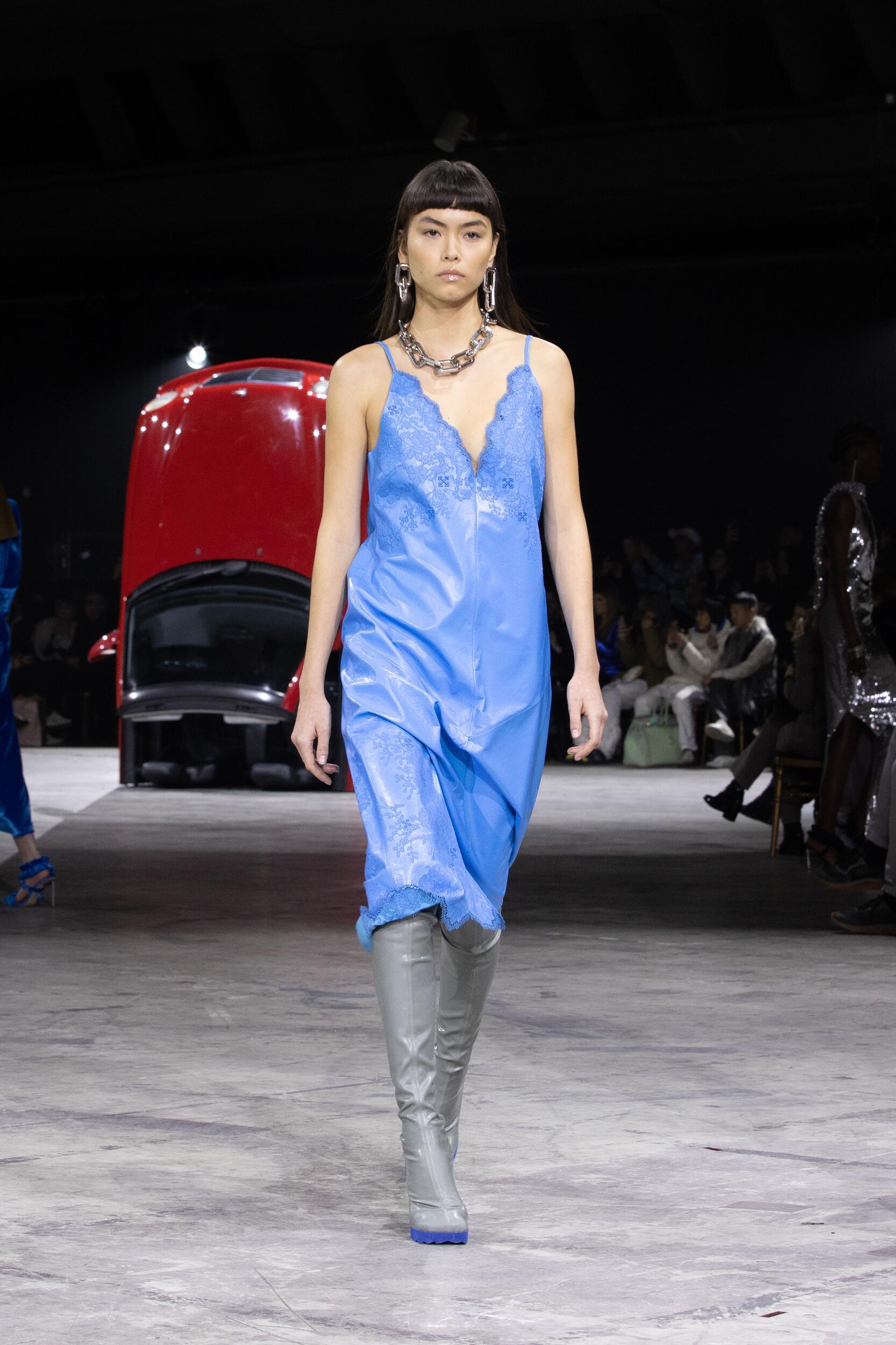 2020 Catwalk Off White c/o Virgil Abloh Woman Fashion Show Winter