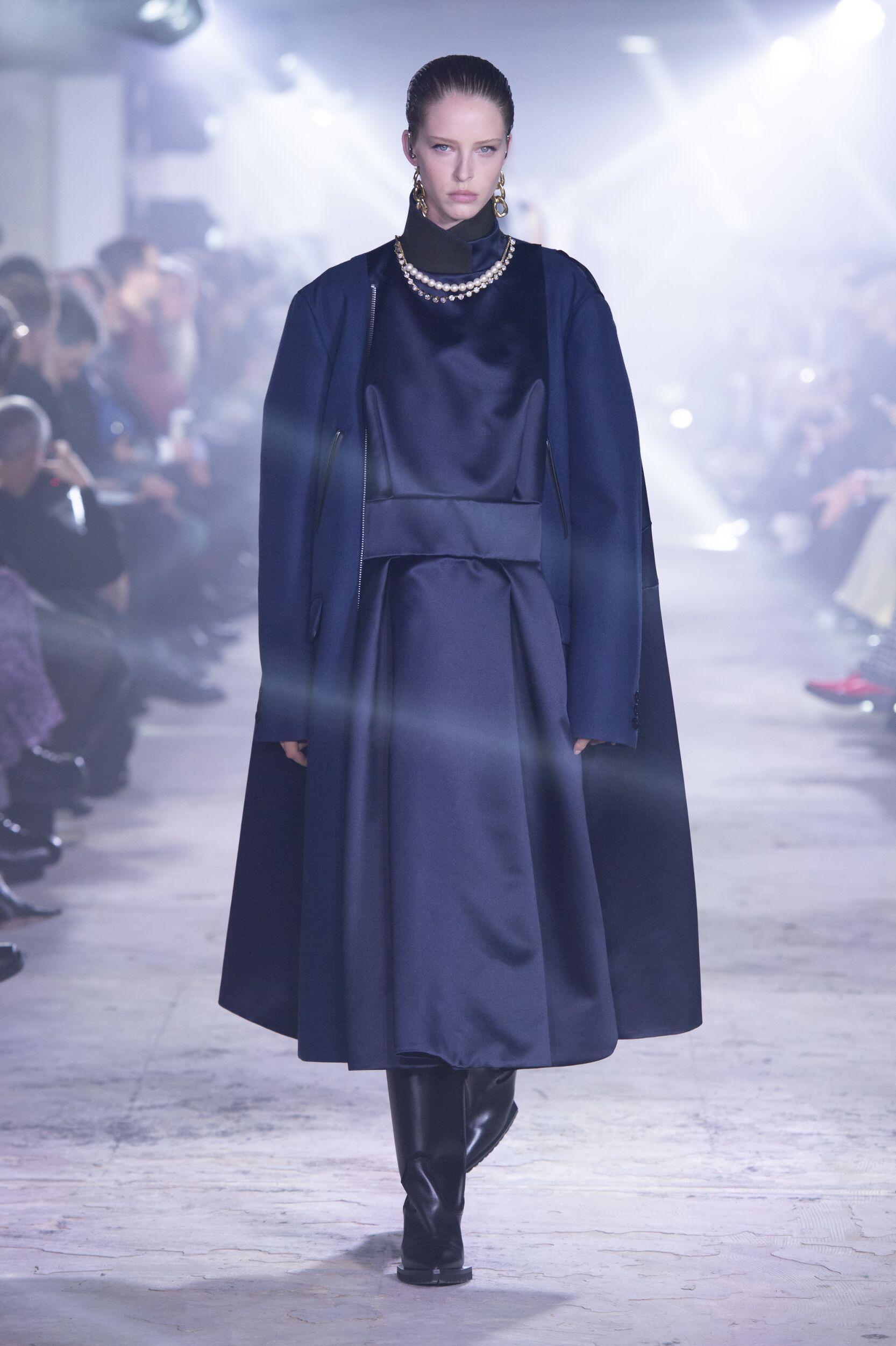 2020 Catwalk Sacai Woman Fashion Show Winter