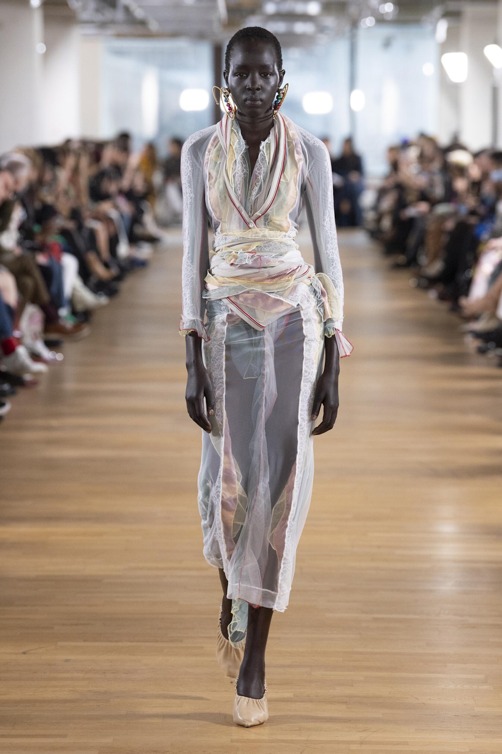 2020 Catwalk Y/Project Woman Fashion Show Winter