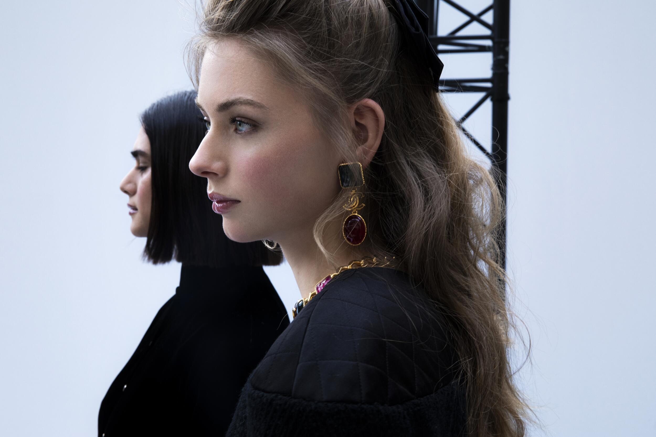 2020 Model Fashion Backstage Chanel