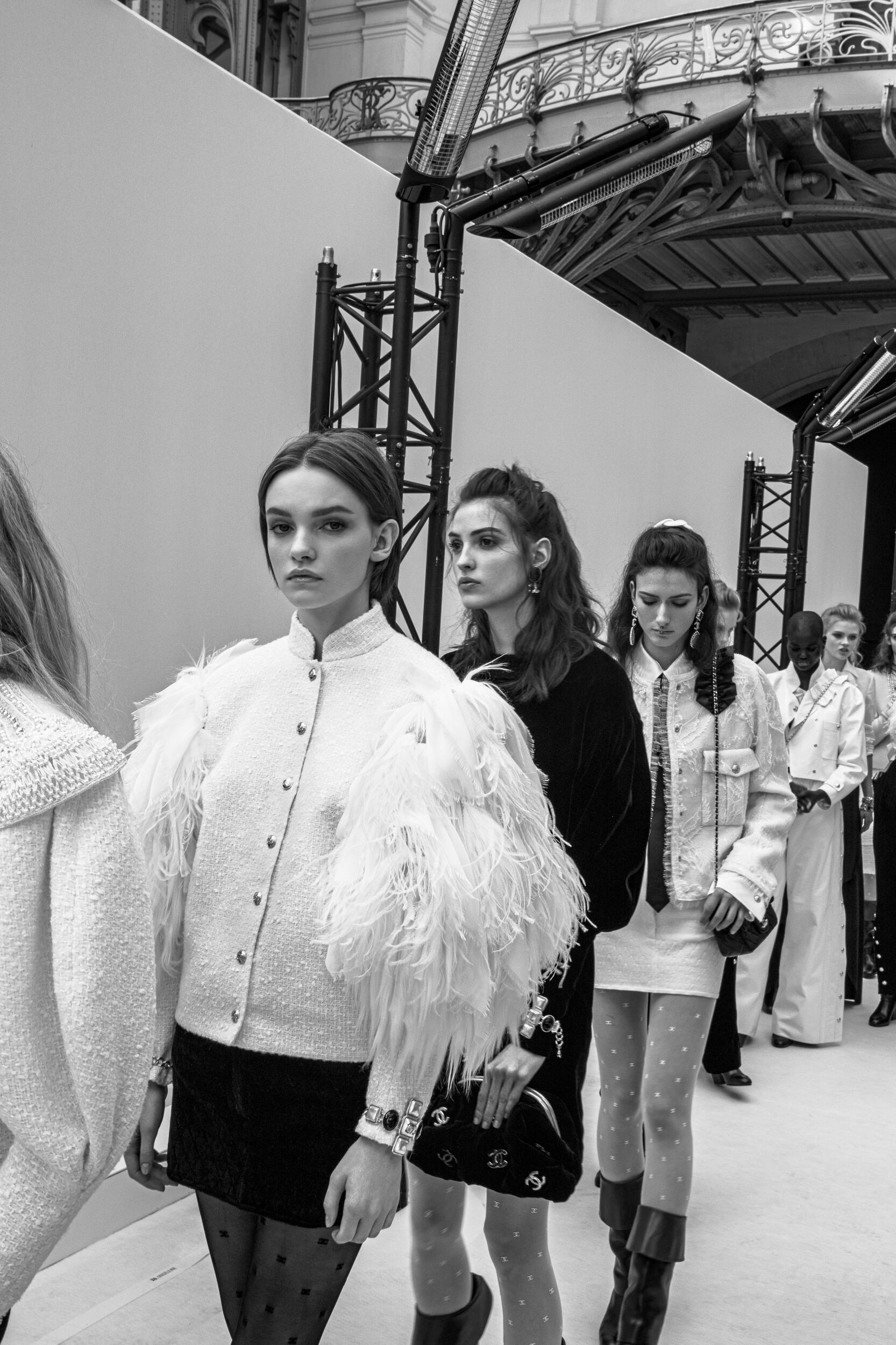 Backstage Chanel 2020