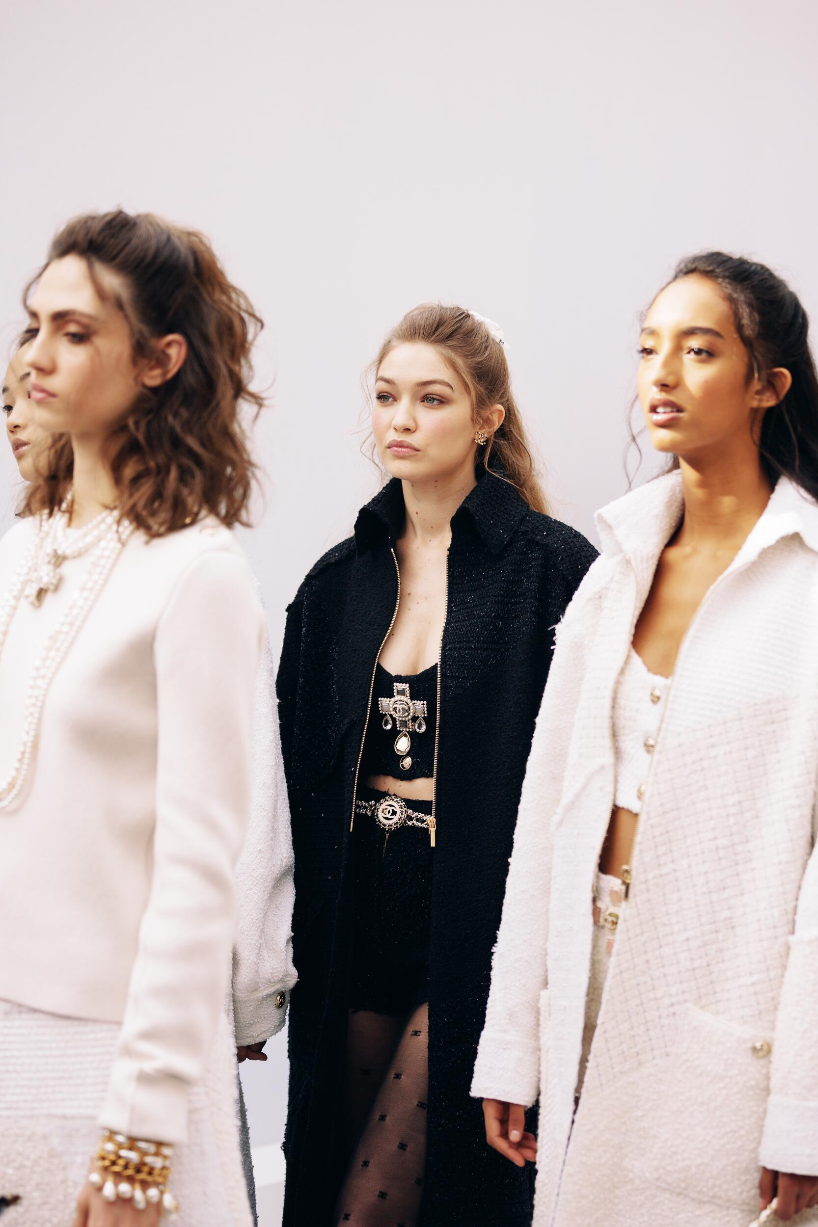 Backstage Chanel Models Trends 2020