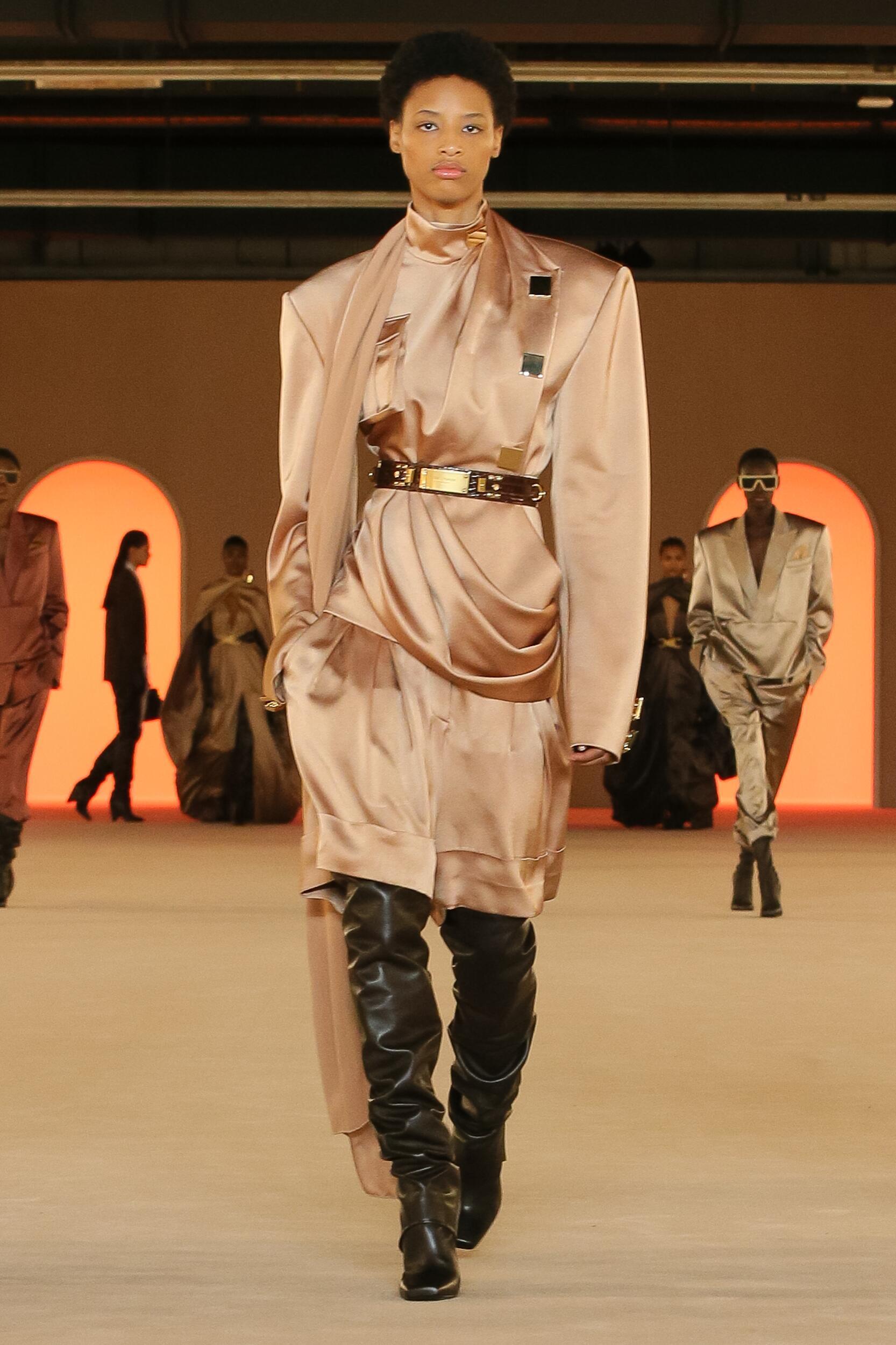 Balmain 2020 Paris Women Trends