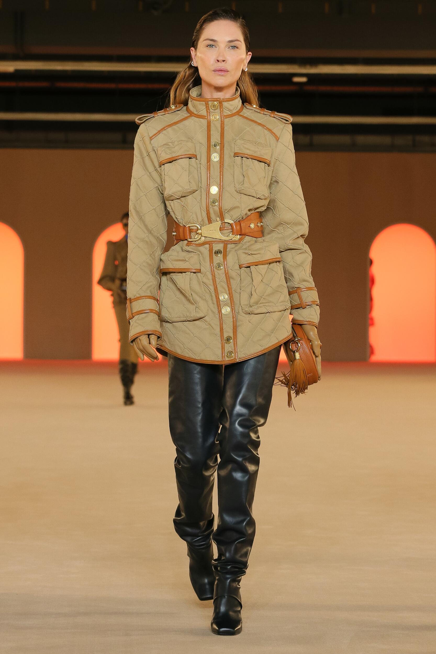 Balmain Fall Winter 2020 Womens Collection Paris Fashion Week