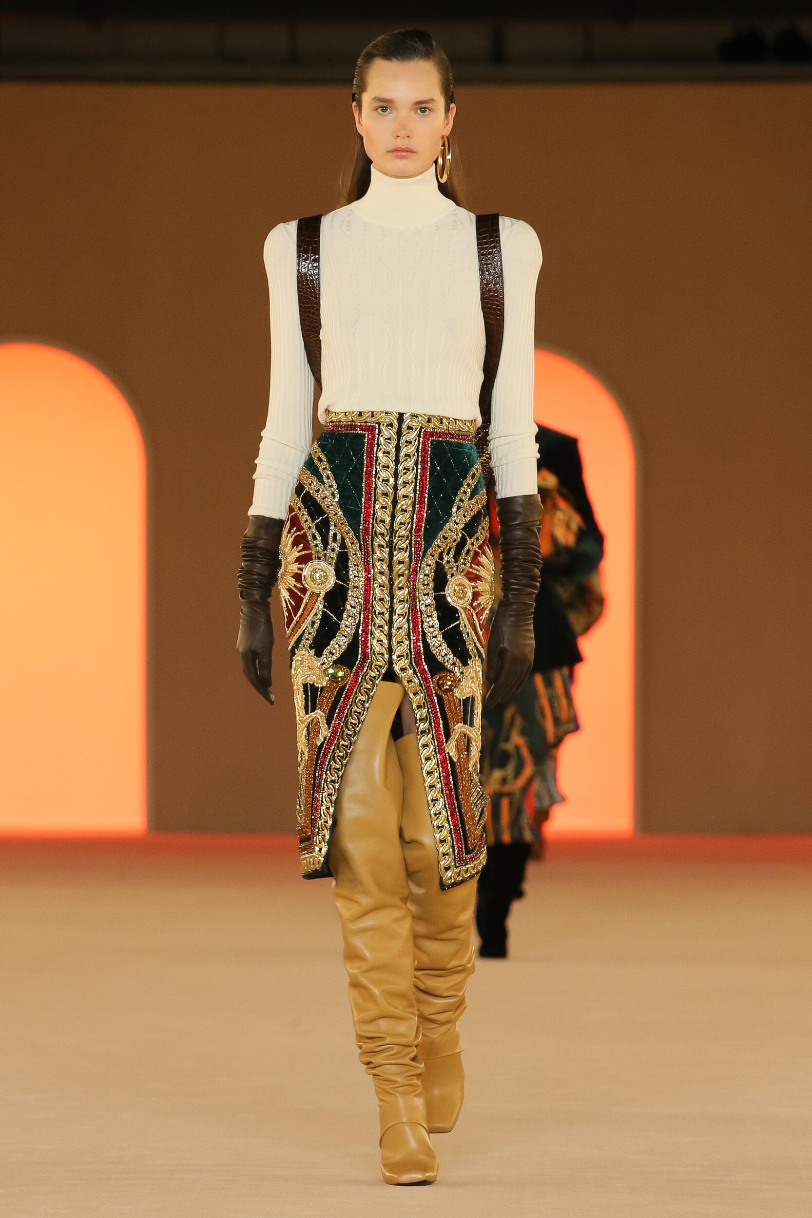 Balmain Paris Fashion Week Womenswear Trends