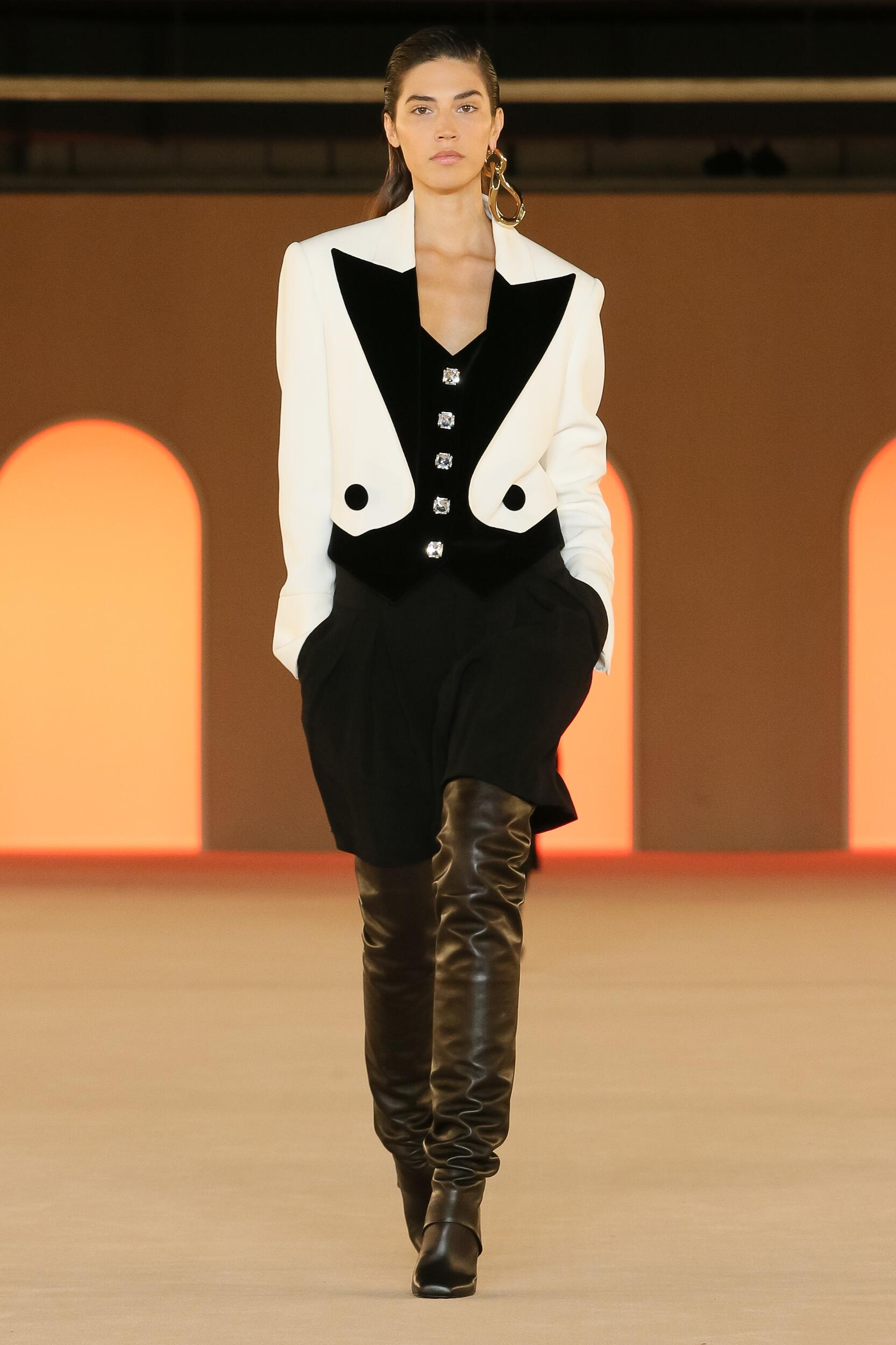Balmain Womenswear Collection Trends Winter