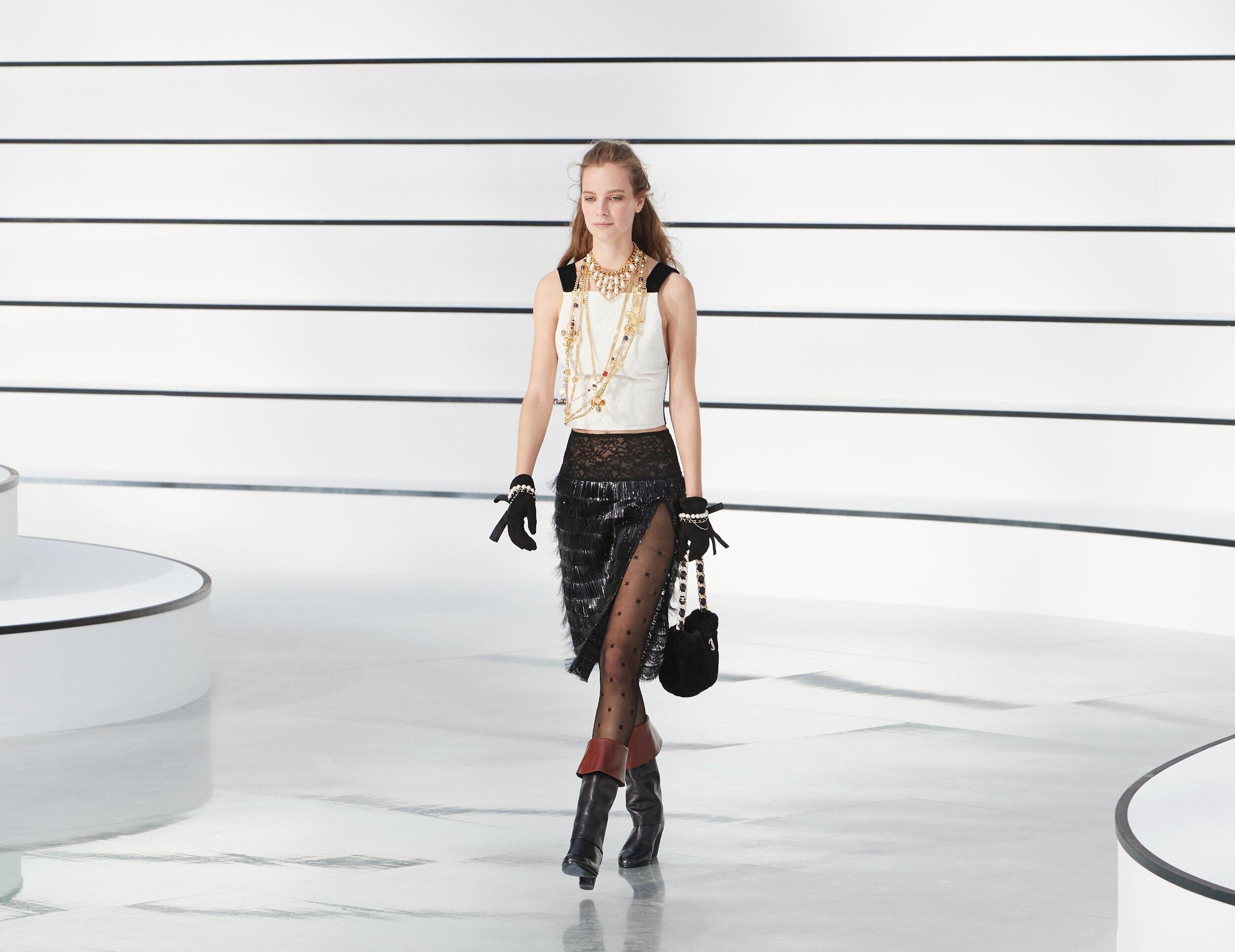 Catwalk Chanel Women Fashion Show Winter 2020