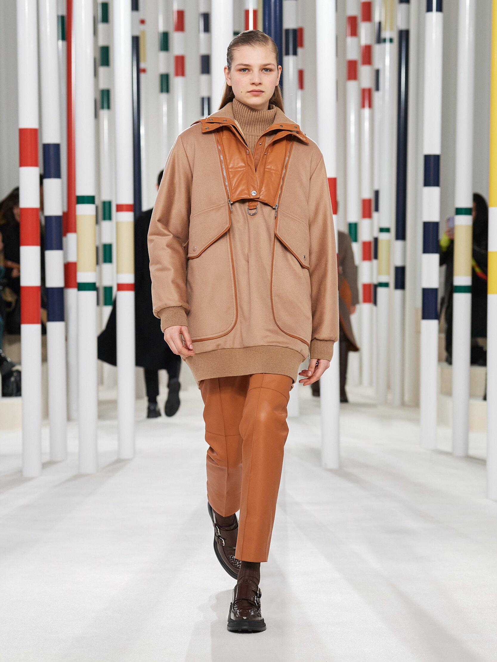 Catwalk Hermès Woman Fashion Show Winter 2020