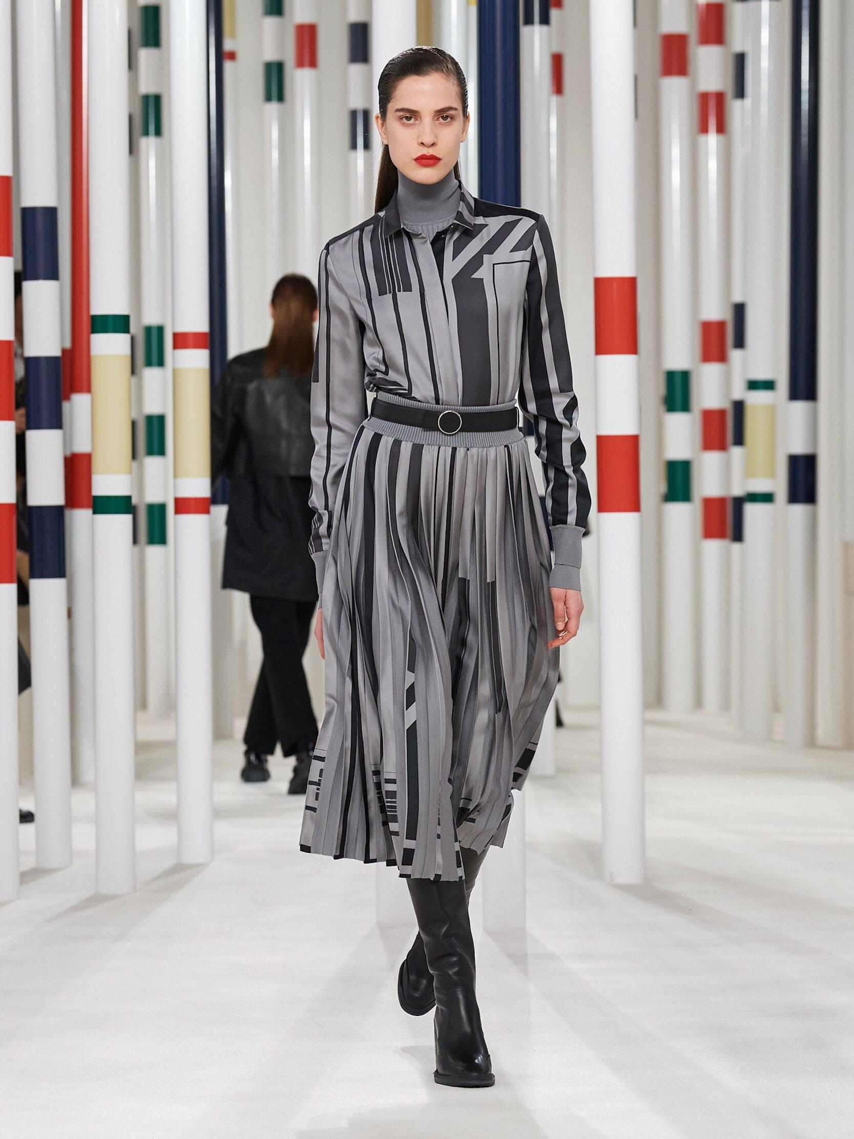 Catwalk Hermès Women Fashion Show Winter 2020