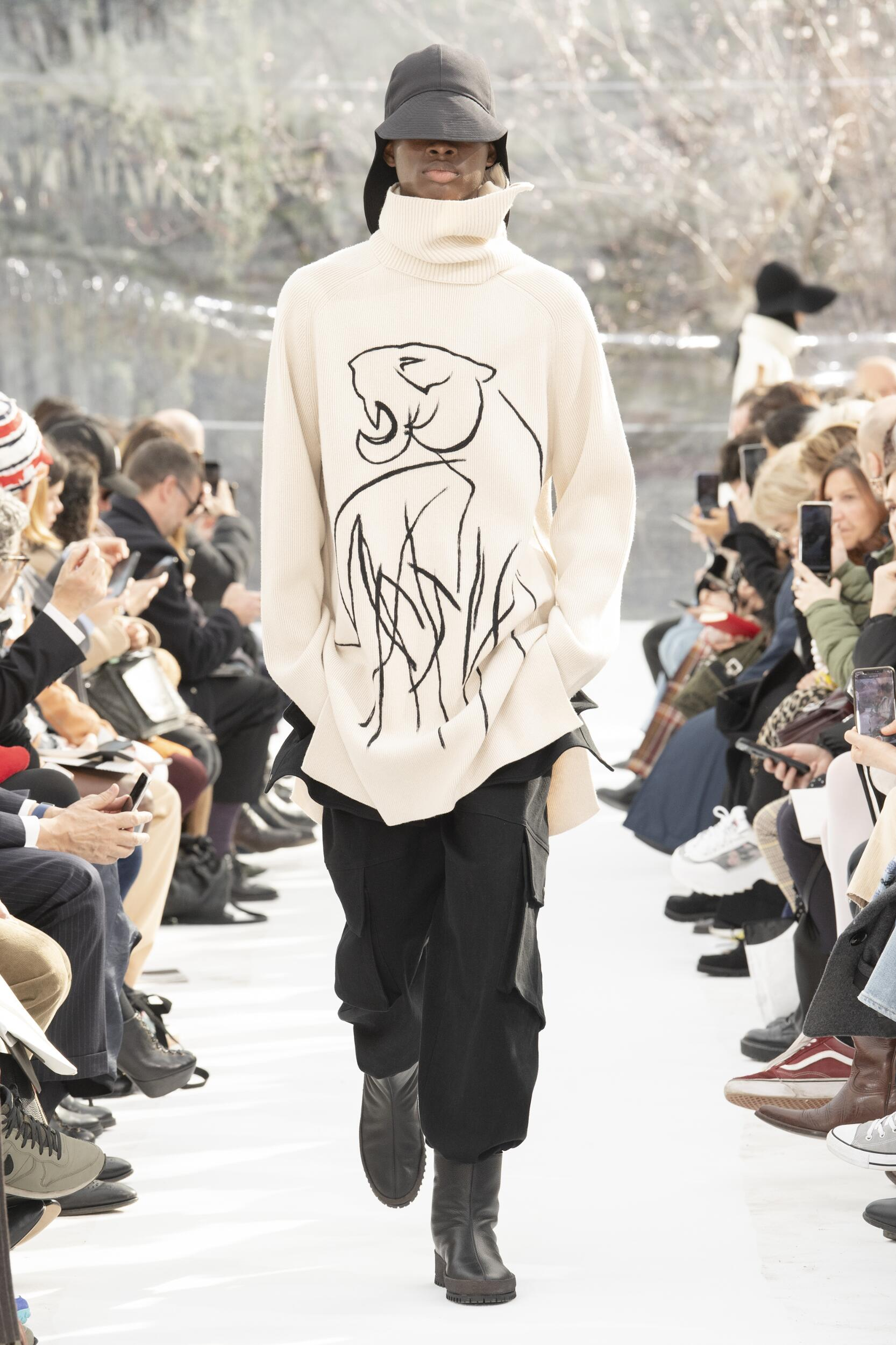 Catwalk Kenzo Men Fashion Show Winter 2020